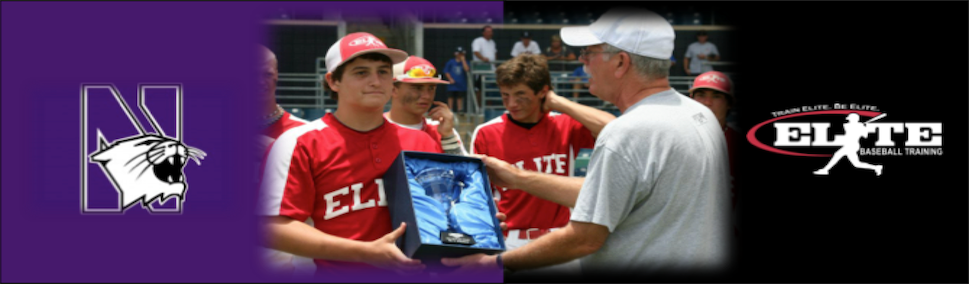 Rosman accepting award for Most Valuable Pitcher at Perfect Game BCS National Championship Tournament in Ft. Myers, Florida (July 2012).