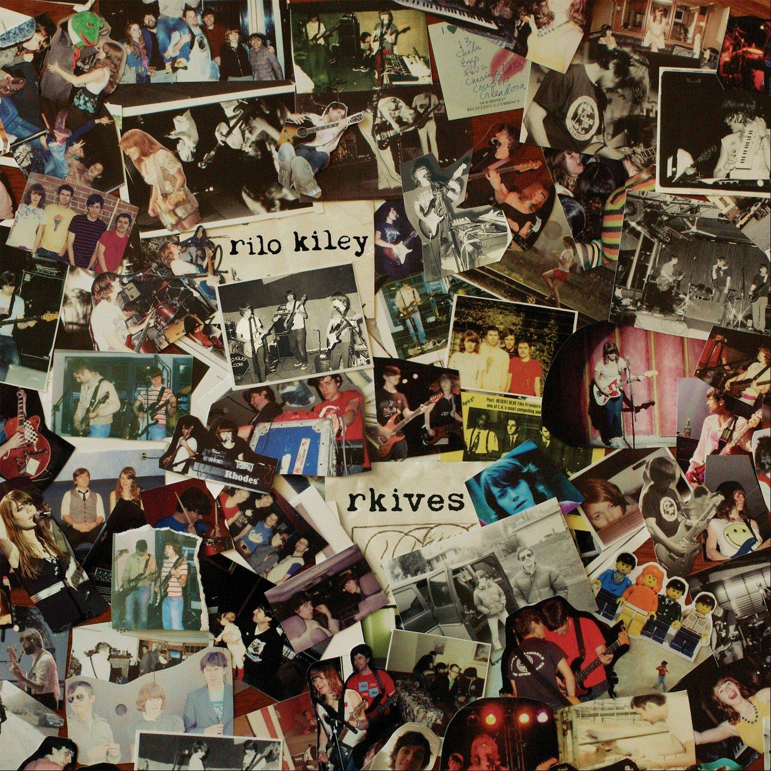 "Rilo Kiley, ""Rkives"""