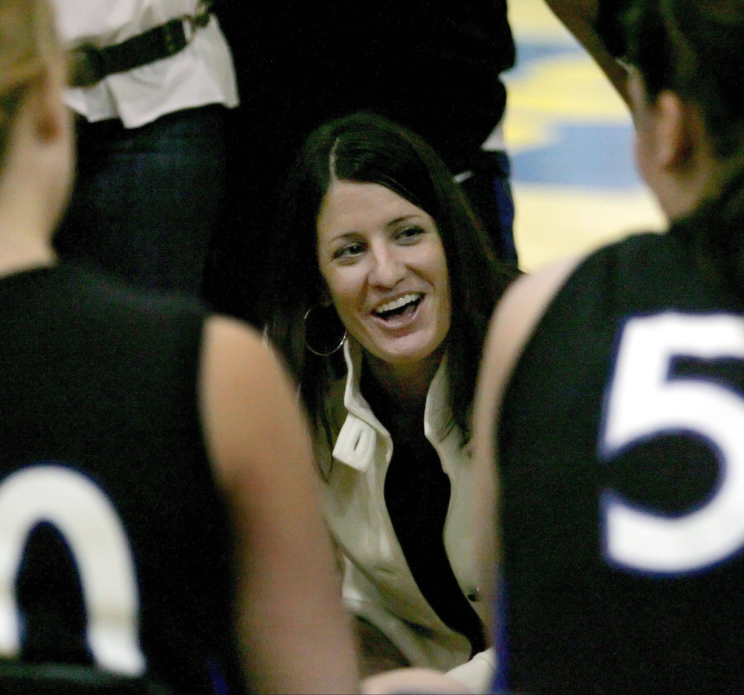 Colleen Backer said stepping down as St. Charles North girls basketball coach was an �unbelievably difficult decision.�