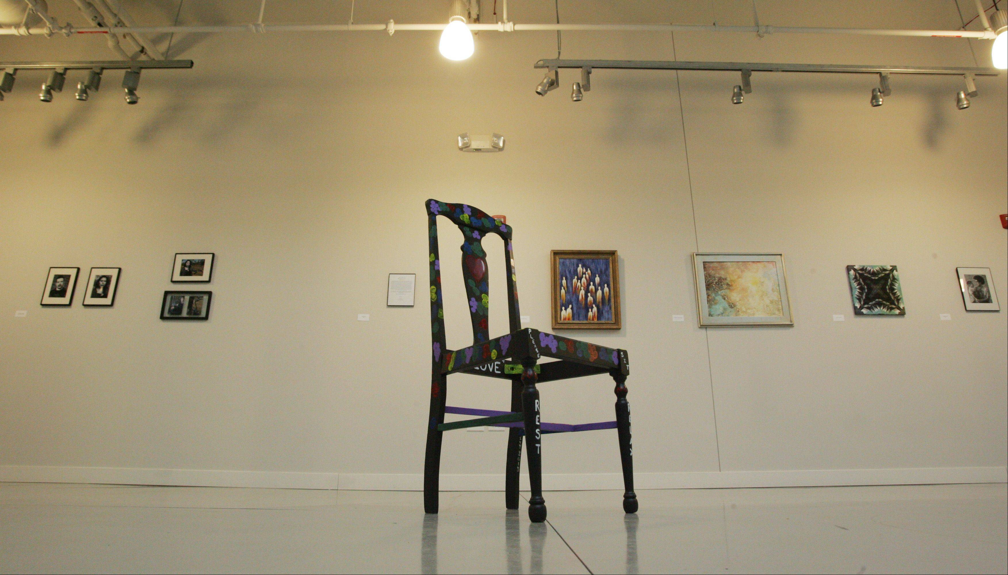 "HOPE Fair Housing Center's ""Home is Where the Art Is"" is on exhibit at Elgin Artspace Lofts at 51 S. Spring St. in downtown Elgin."