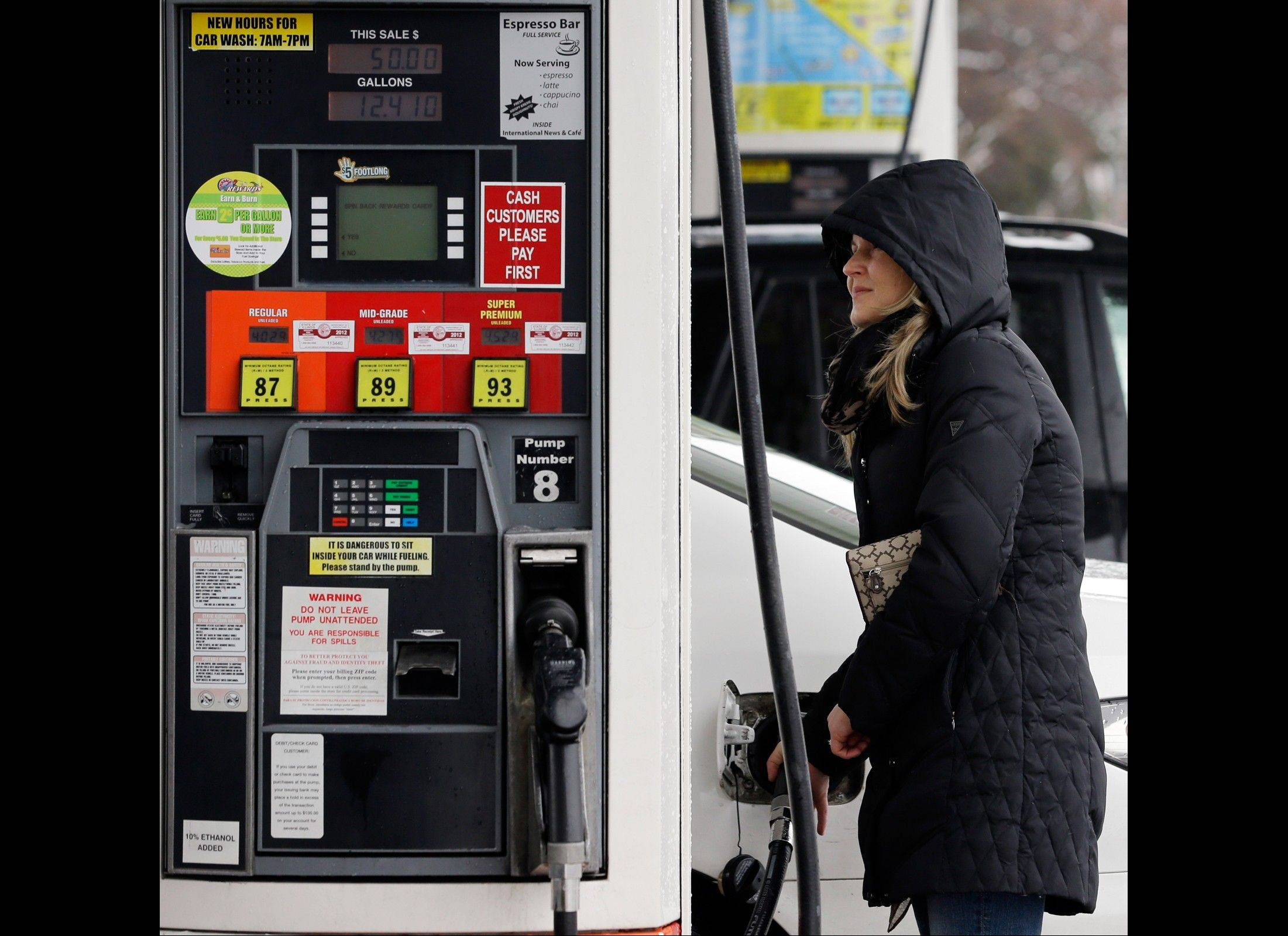 A measure of wholesale prices fell by the largest amount in 10 months in March, reflecting a big drop gasoline prices. The Labor Department, on Friday, April 12, 2013, says its producer price index fell 0.6 percent in March compared with February. In February, wholesale prices had jumped 0.7 percent.