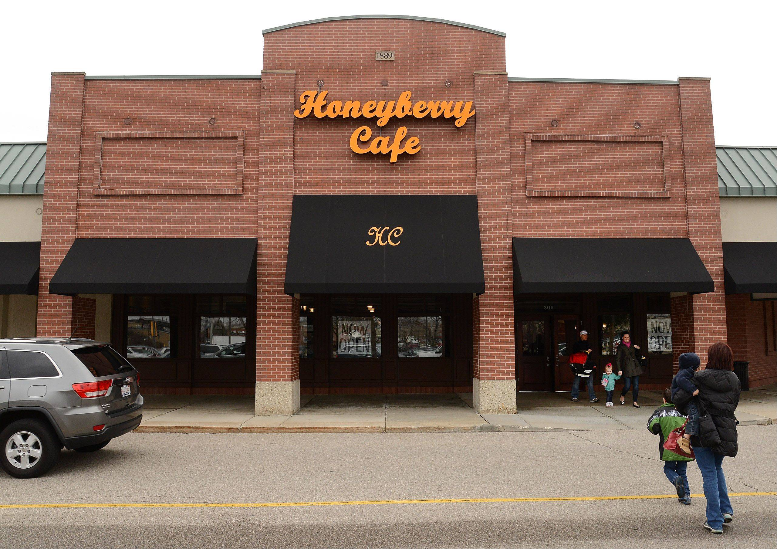 Honeyberry Cafe, a new breakfast and lunch restaurant, is using the space formerly occupied by Max & Erma�s.
