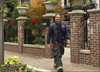 "Taylor Kinney in ""Chicago Fire."" The show, along with ""Boss,"" ""Mob Doctor"" and ""Underemployed."" generated $92 million in spending last year."