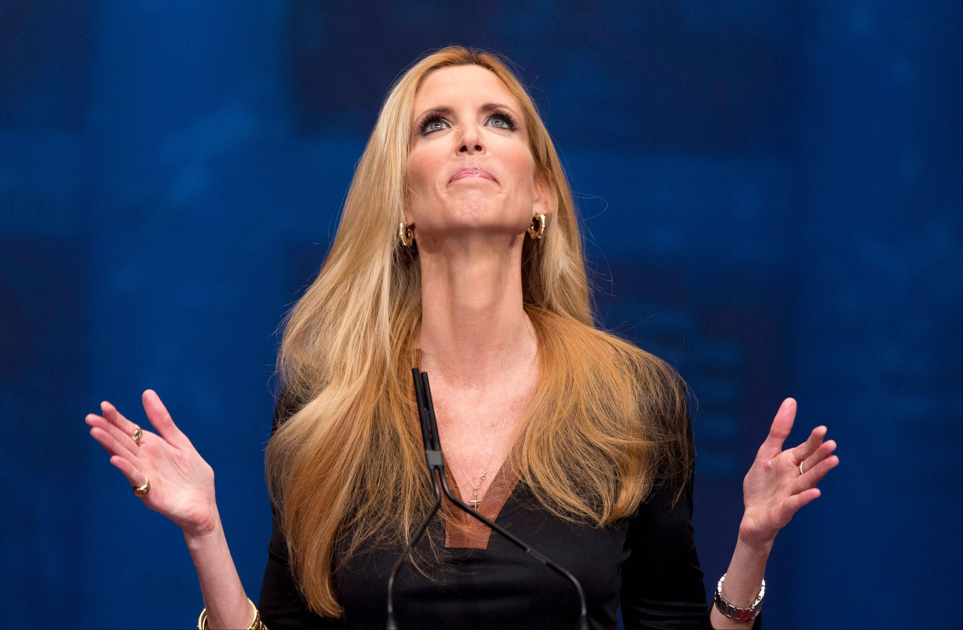 The Fox Nation website has removed a column by conservative commentator Ann Coulter because it had a reference to killing the daughter of Sen. John McCain.