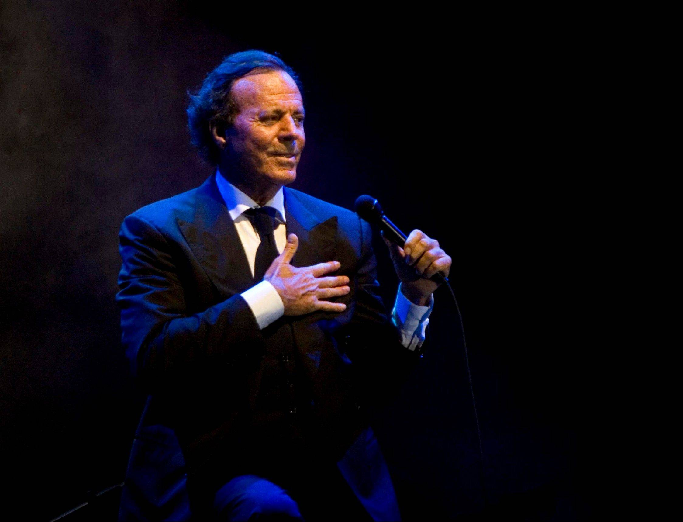 "Julio Iglesias' latest album, ""1 -- Greatest Hits,"" was released Tuesday."