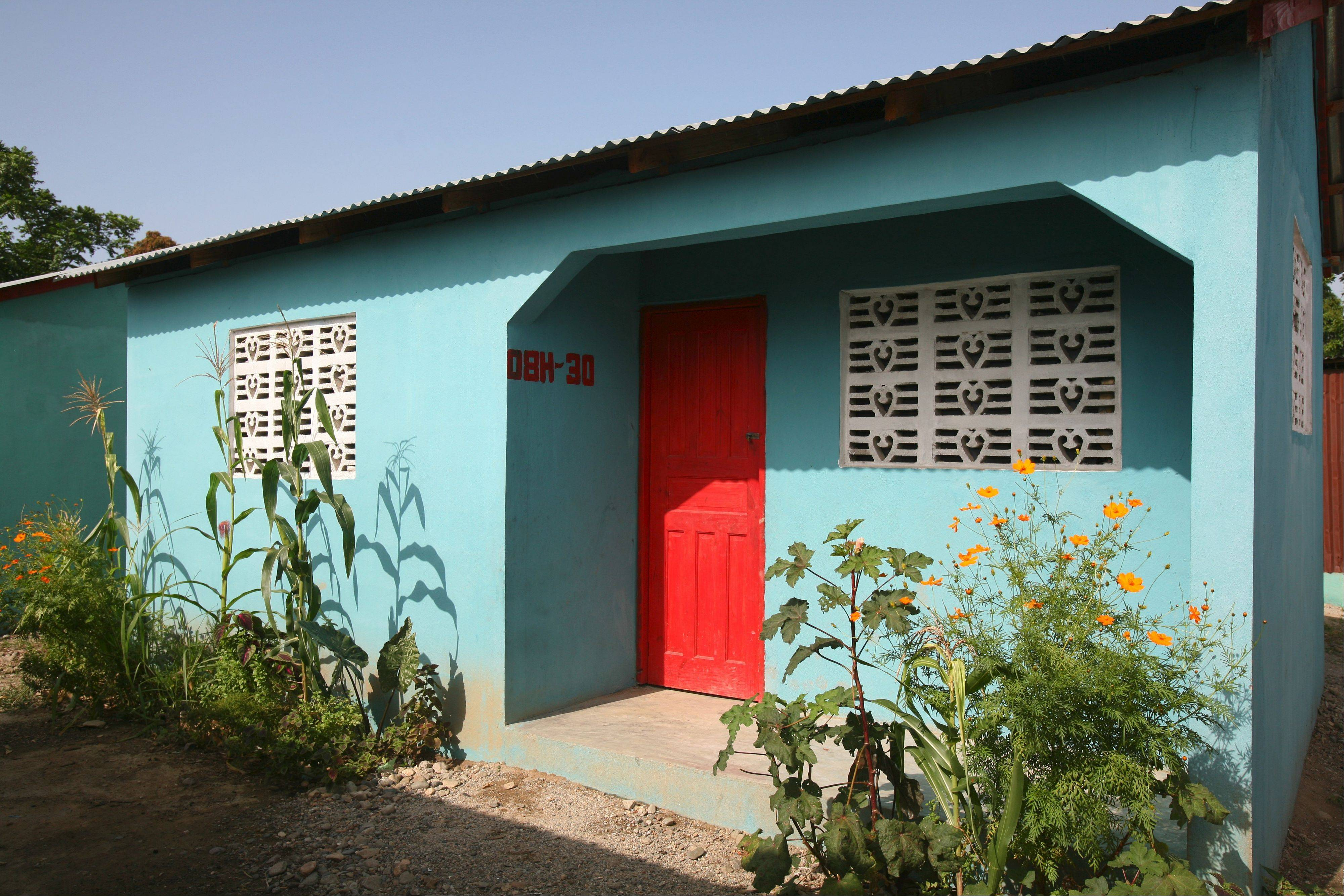 The Hope for Haitians project has built more than 350 homes for families.