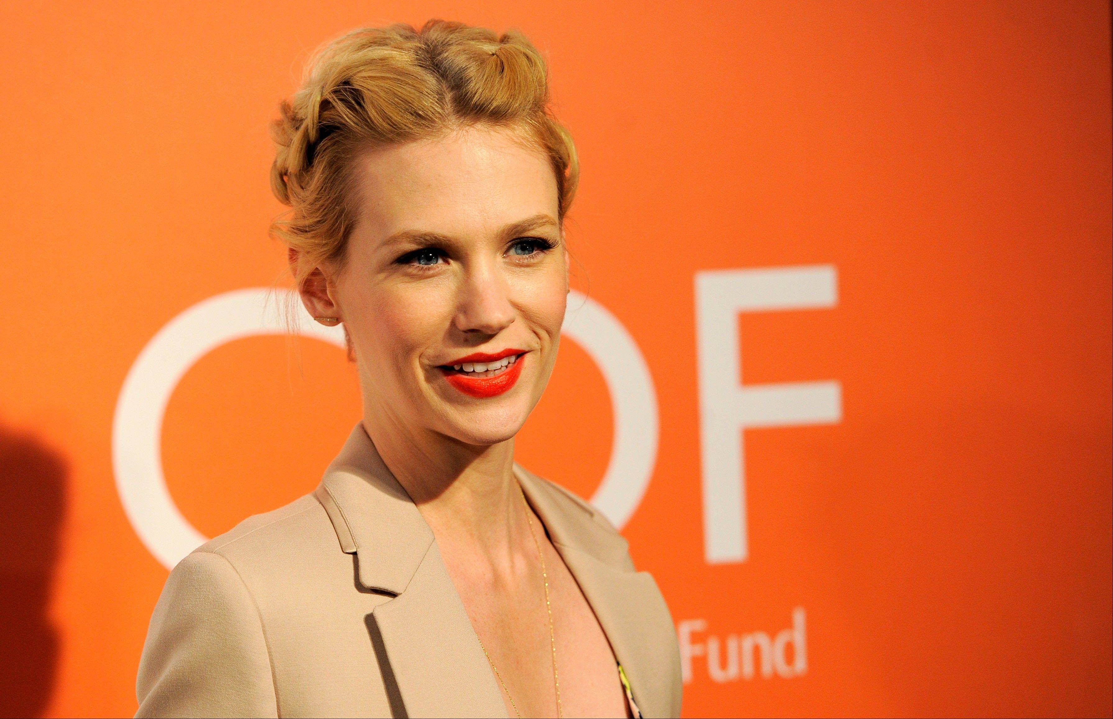 Actress January Jones at the 3rd Annual Coach Evening to Benefit Children's Defense Fun at Bad Robot in Santa Monica, Calif.