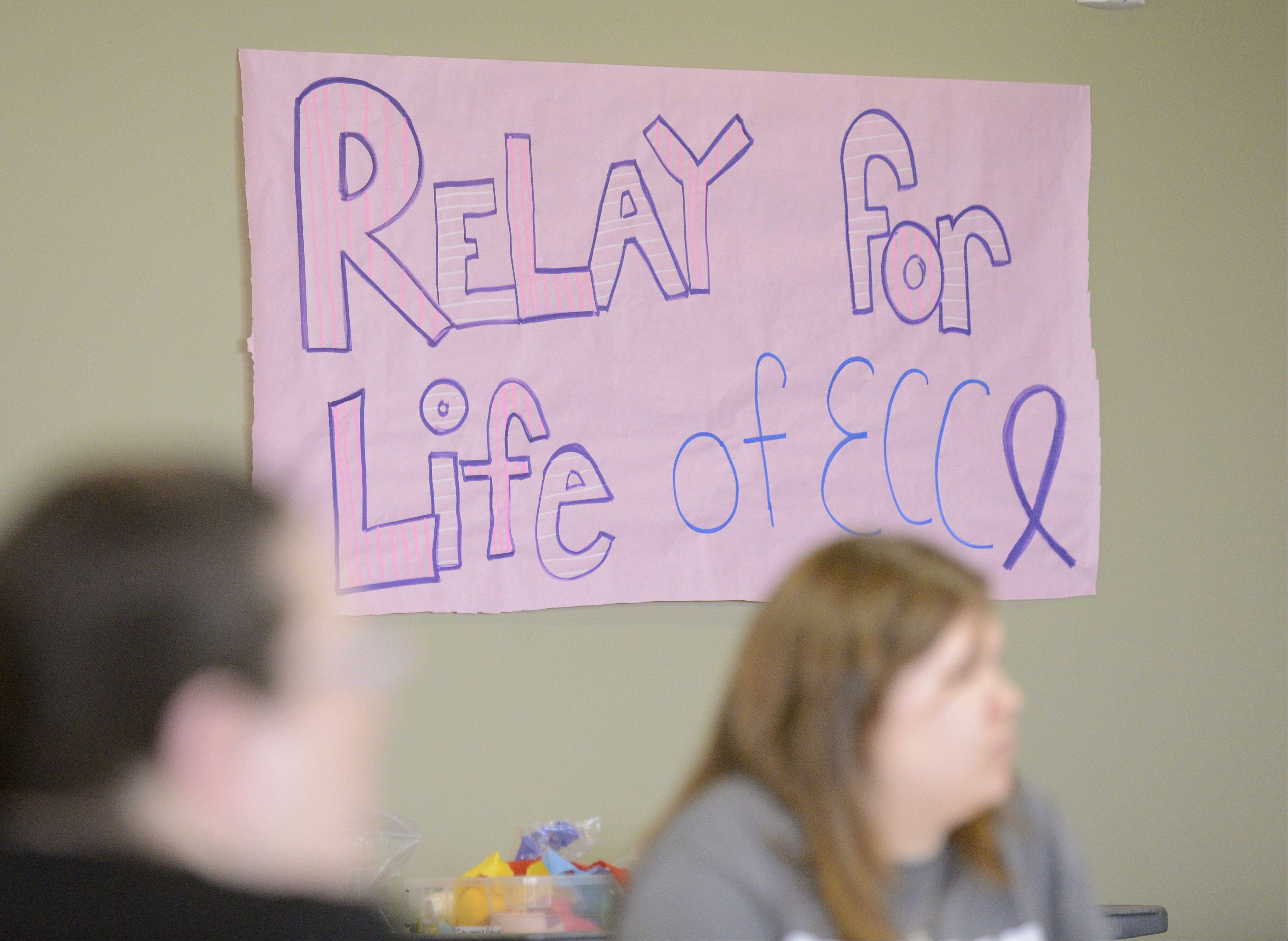The American Cancer Society Relay For Life of Elgin Community College held a kick off gathering on Saturday. Participants gathered to mingle, register, make crafts and learn more about the June event.