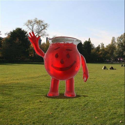 "This computer-generated image shows the new ""Kool-Aid Man."" Kool-Aid is unveiling a new look for its big red mascot Monday,"