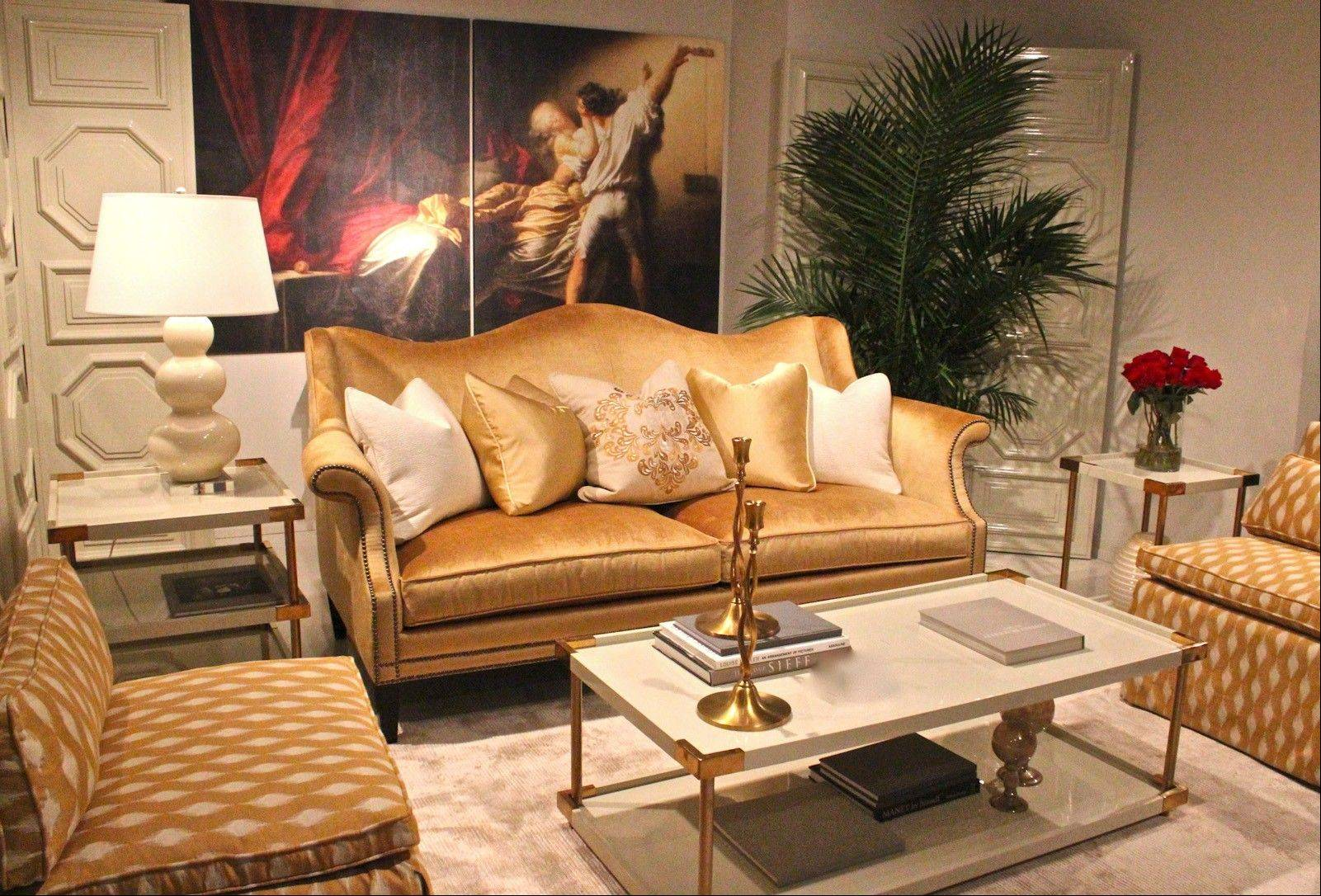 A grouping in gold tones by Bernhardt. (SHNS)