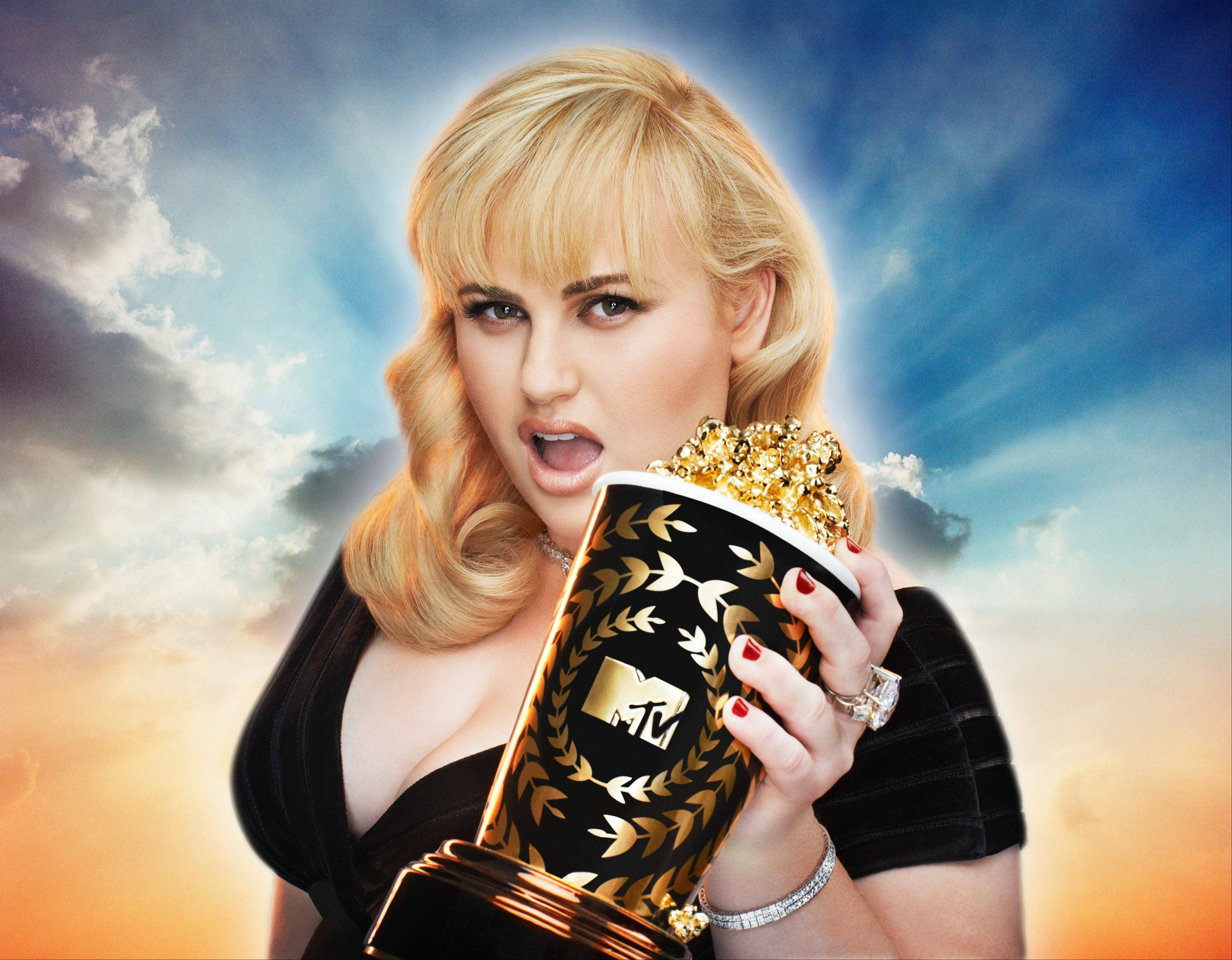 Rebel Wilson hosts the MTV Movie Awards, airing Sunday, April 14.