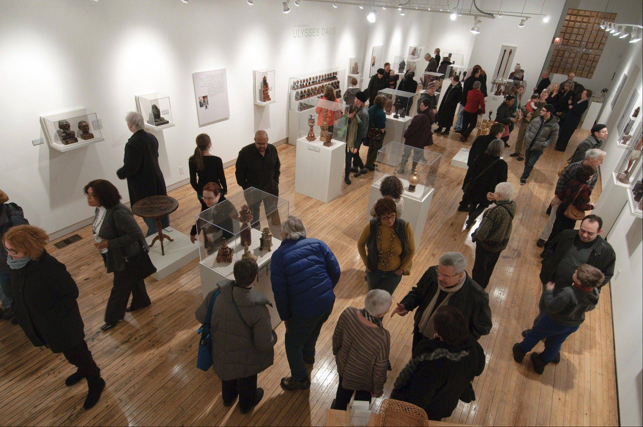 Consider a visit to Chicago's Intuit: The Center for Intuitive and Outsider Art, open Tuesday to Saturday in Chicago.