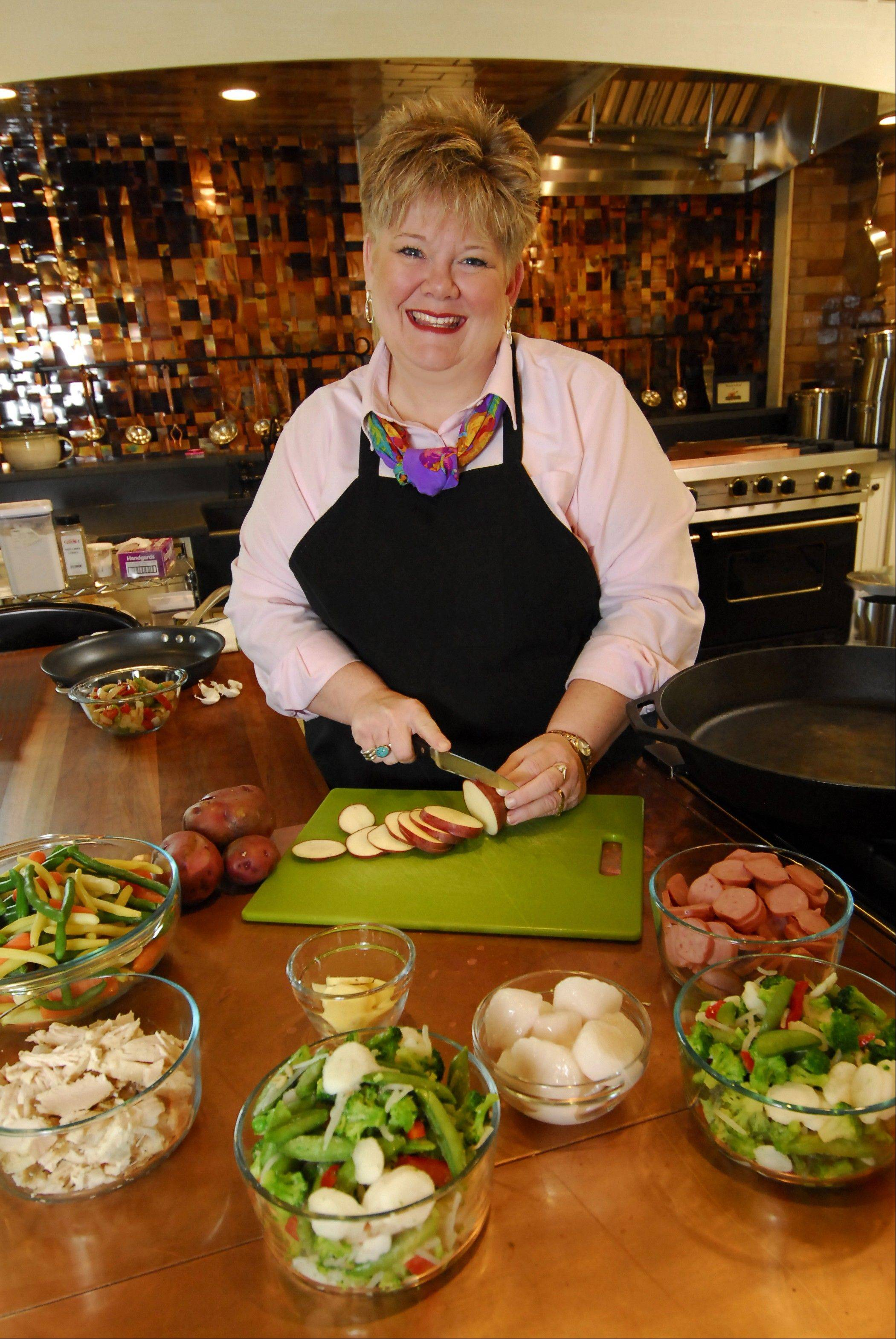 Silver Dollar City's Culinary & Craft School offers classes taught by culinary experts, such as Debbie Dance Uhrig.