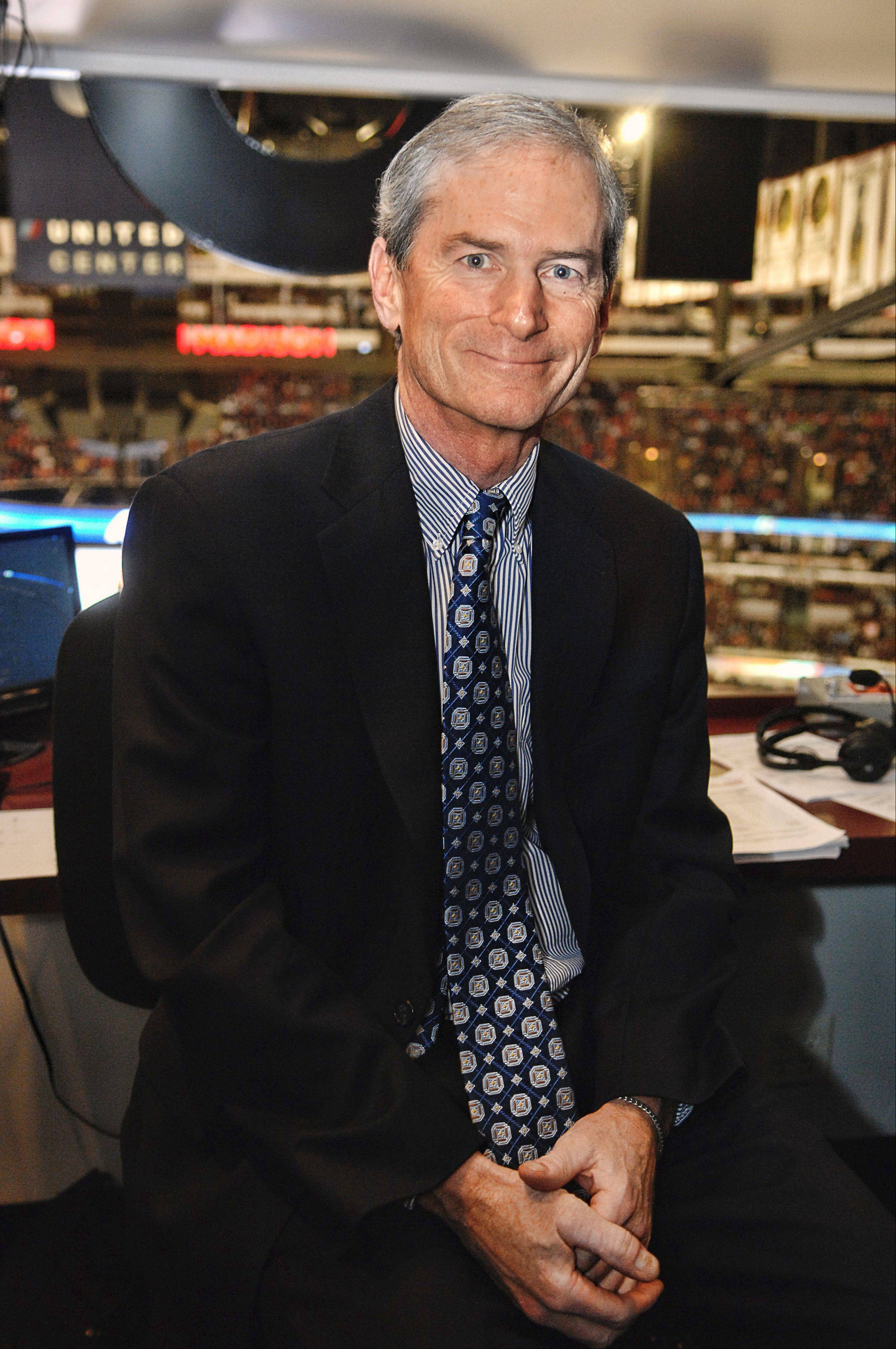 Longtime broadcaster Pat Foley insists he's the luckiest man in Chicago to be working in his hometown with his favorite sport and the best team in the NHL. On Friday, the Hawks will honor Foley for his 30 years with the team.