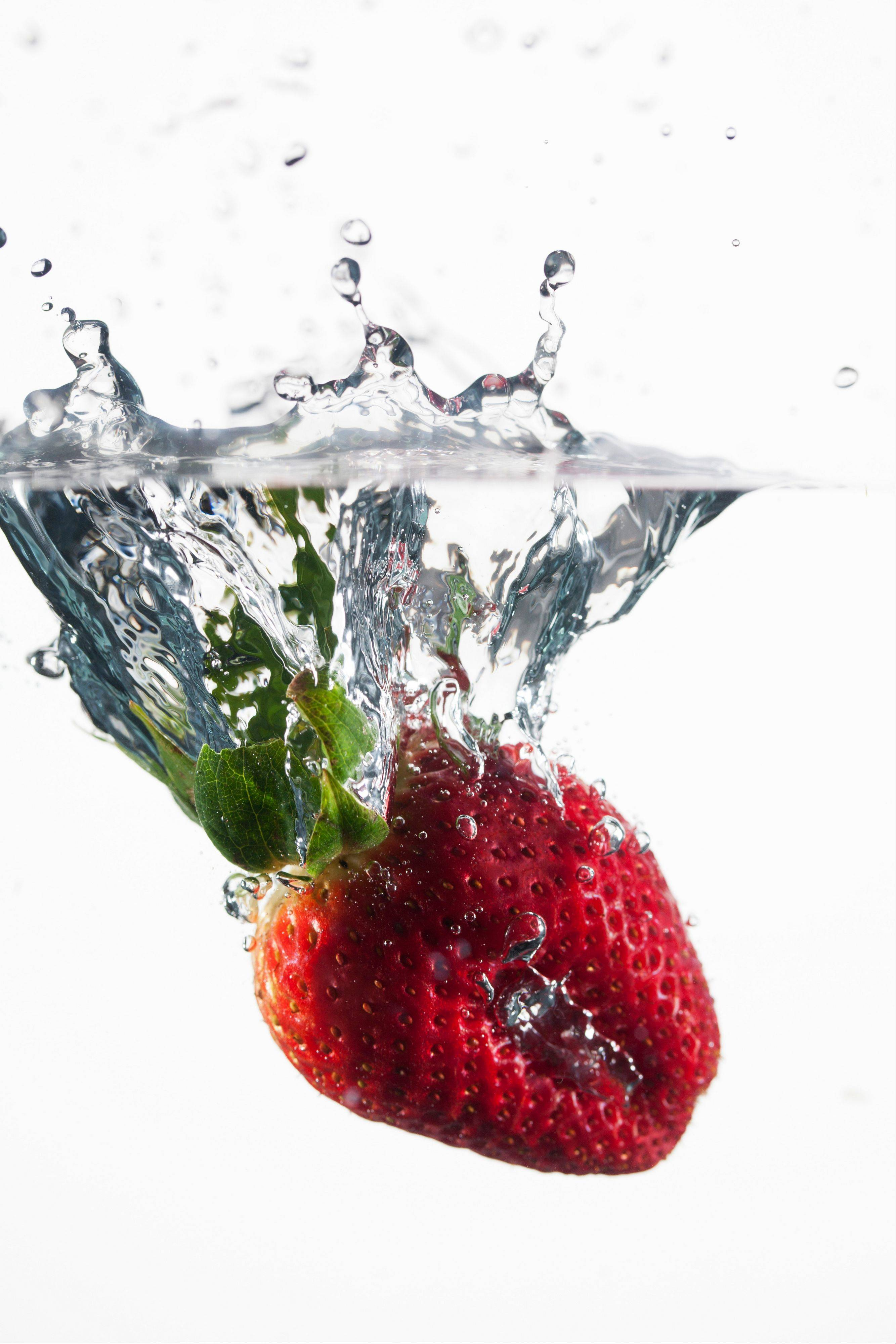 Heat-shocking extends the life of produce, such as strawberries, and is 100 percent organic and uses just one ingredient that every cook has handy, hot water.
