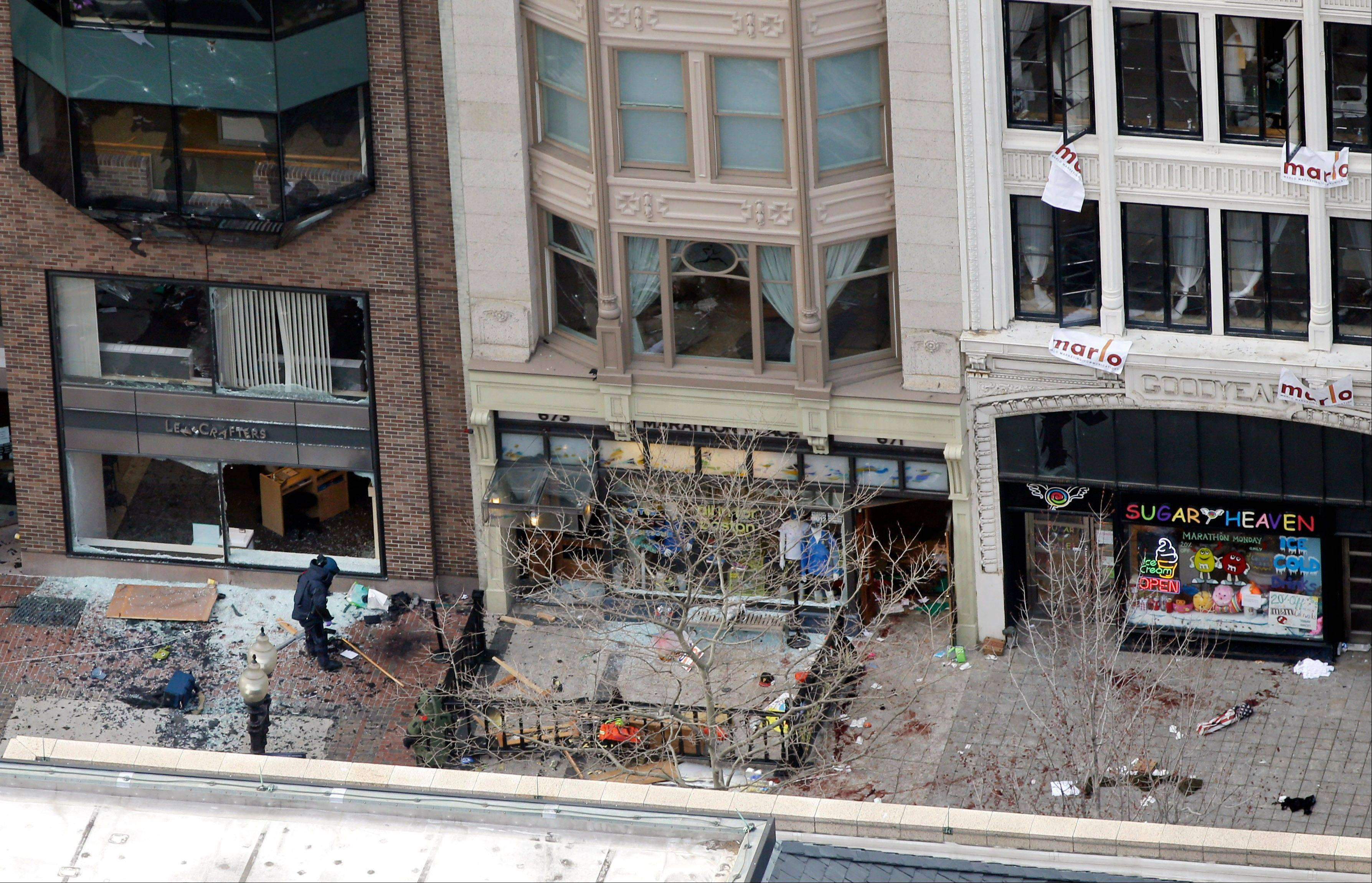 FAA orders no-fly zone over Boston explosion site