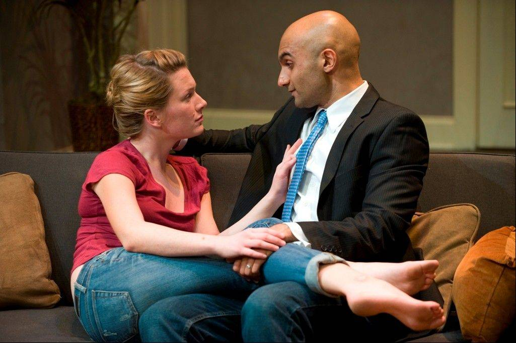 "Lee Stark and Usman Ally starred in the 2012 world premiere of ""Disgraced"" at American Theater Company in Chicago. The play by Ayad Akhtar won the 2013 Pulitzer Prize for Drama."