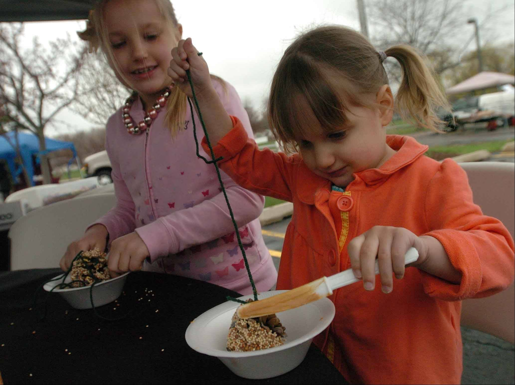 Carol Stream's Earth Day Festival offers a variety of green activities for children in addition to environmental information.