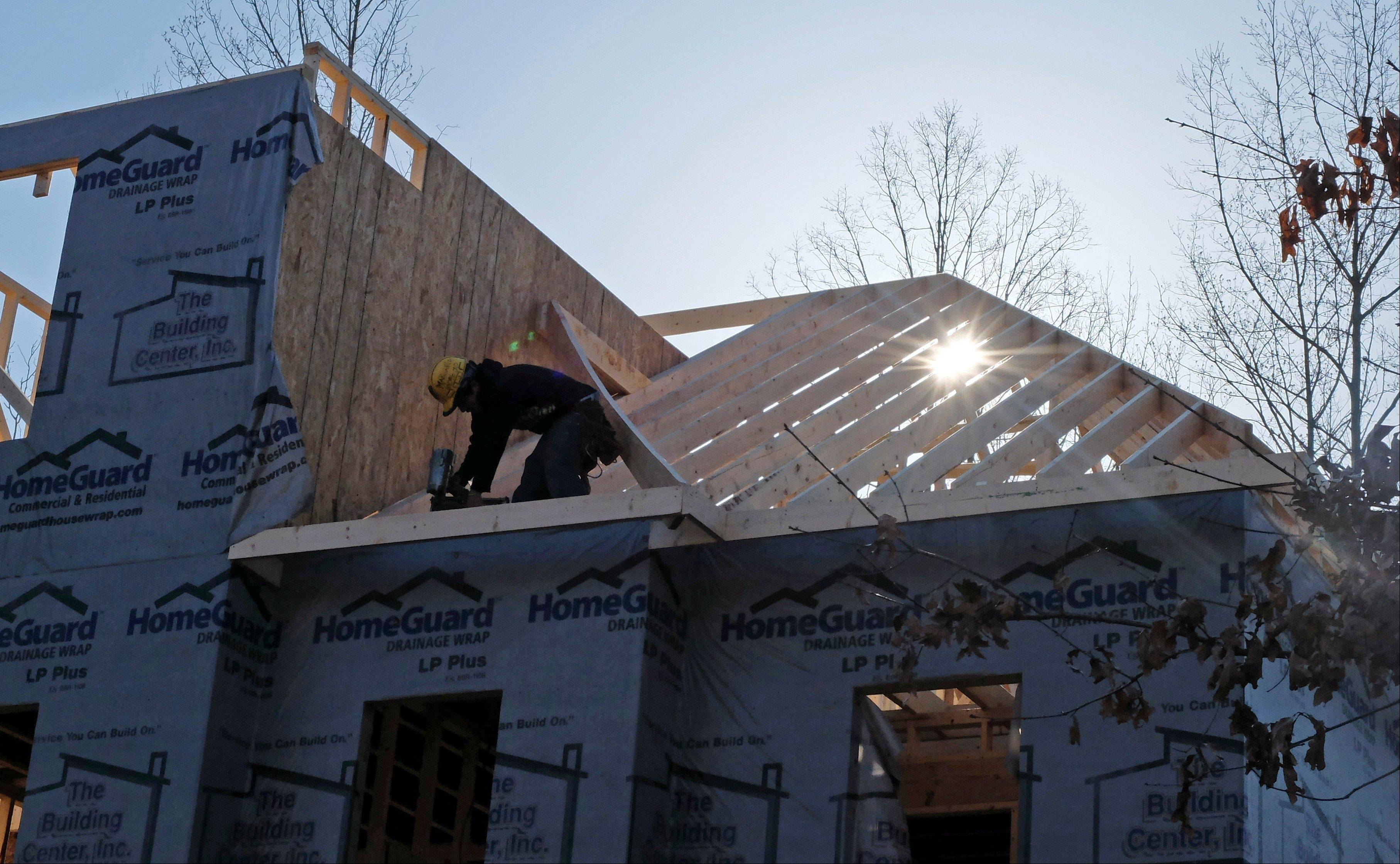 U.S. builders broke ground in March on homes at a seasonally adjusted rate of 1.04 million, the fastest since June 2008.