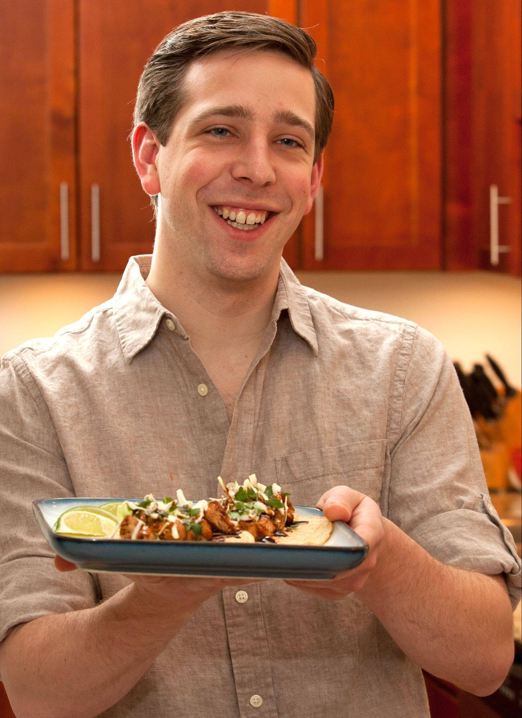 When he was in college Nick Ninedorf finally broke out of his picky eater shell. Now he enjoys creating recipes with bold flavors, like these Korean-style tacos.