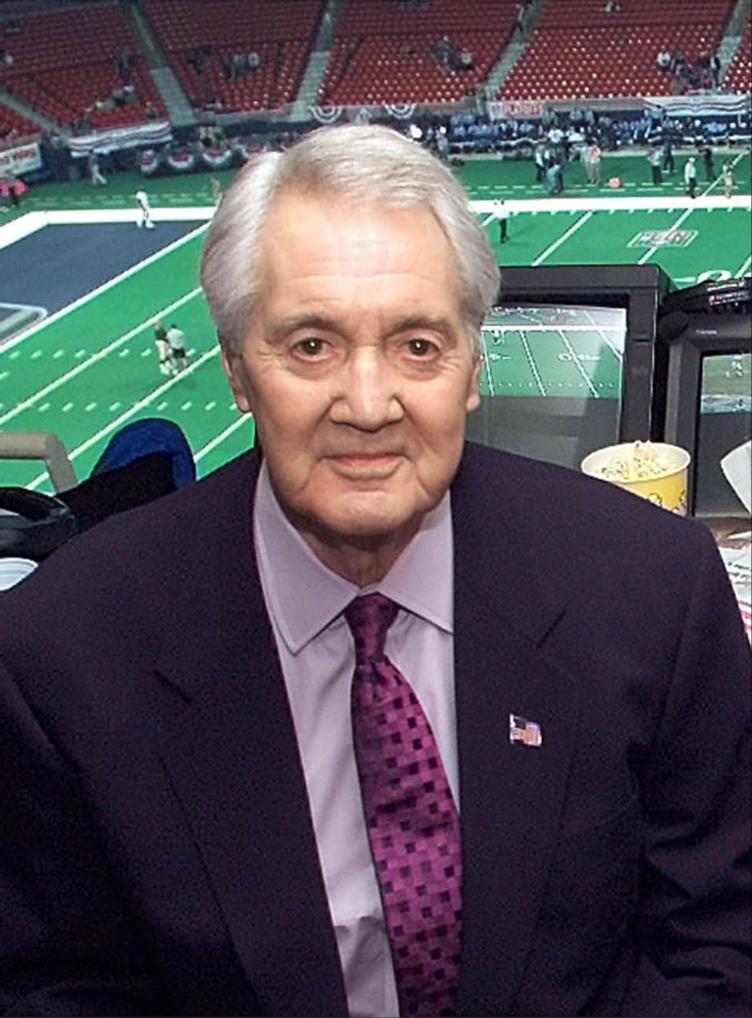 Pat Summerall, the NFL player-turned-broadcaster, has died at age 82, according to a Fox Sports spokesman.