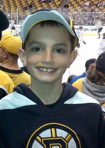 This undated photo provided by Bill Richard, shows his son, Martin Richard, in Boston. Martin Richard, 8, was among the at least three people killed in the explosions, Monday, April 15,