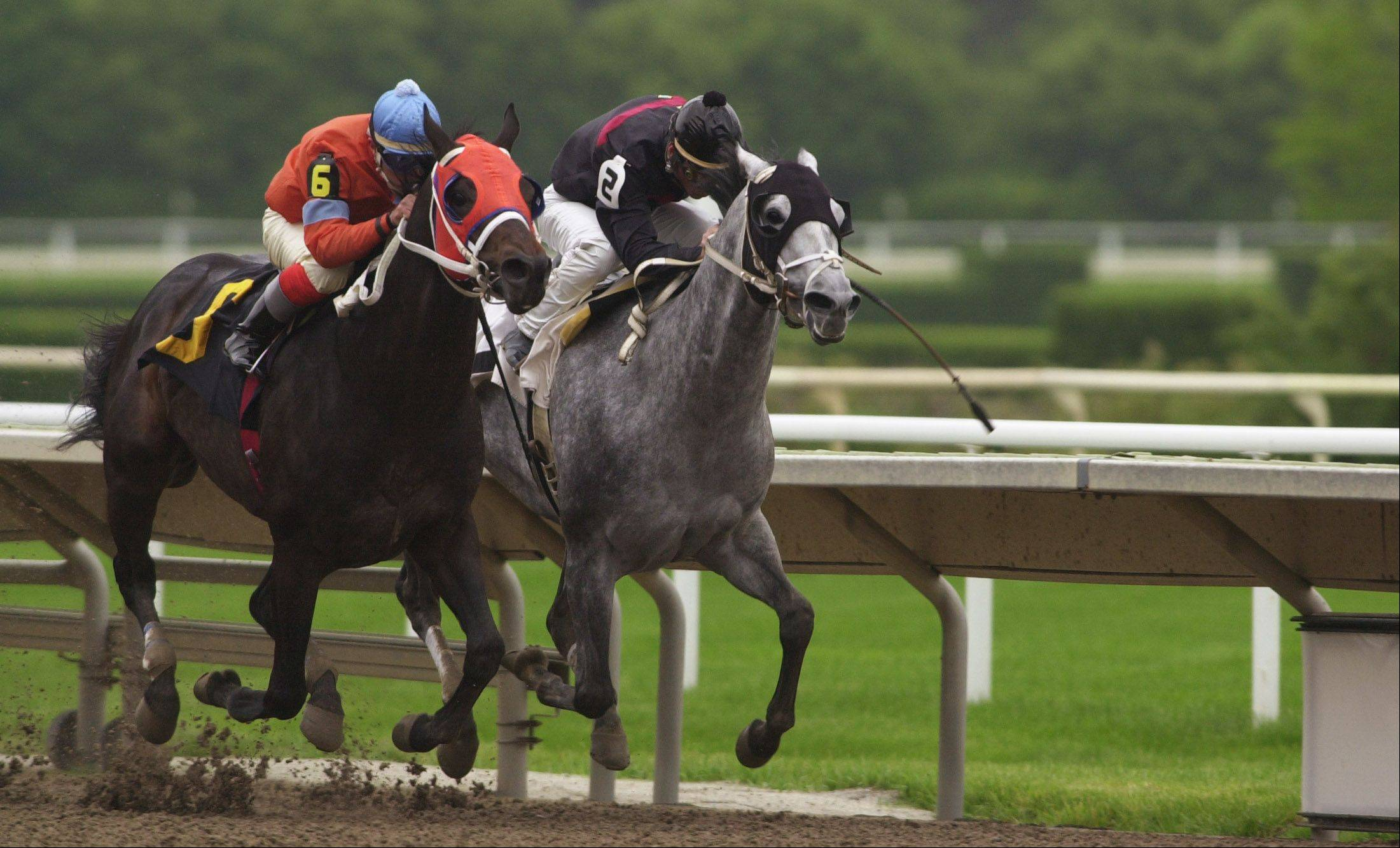 Horsemen at Arlington Park say they should get a cut of the track's Internet gambling income, should it be approved.