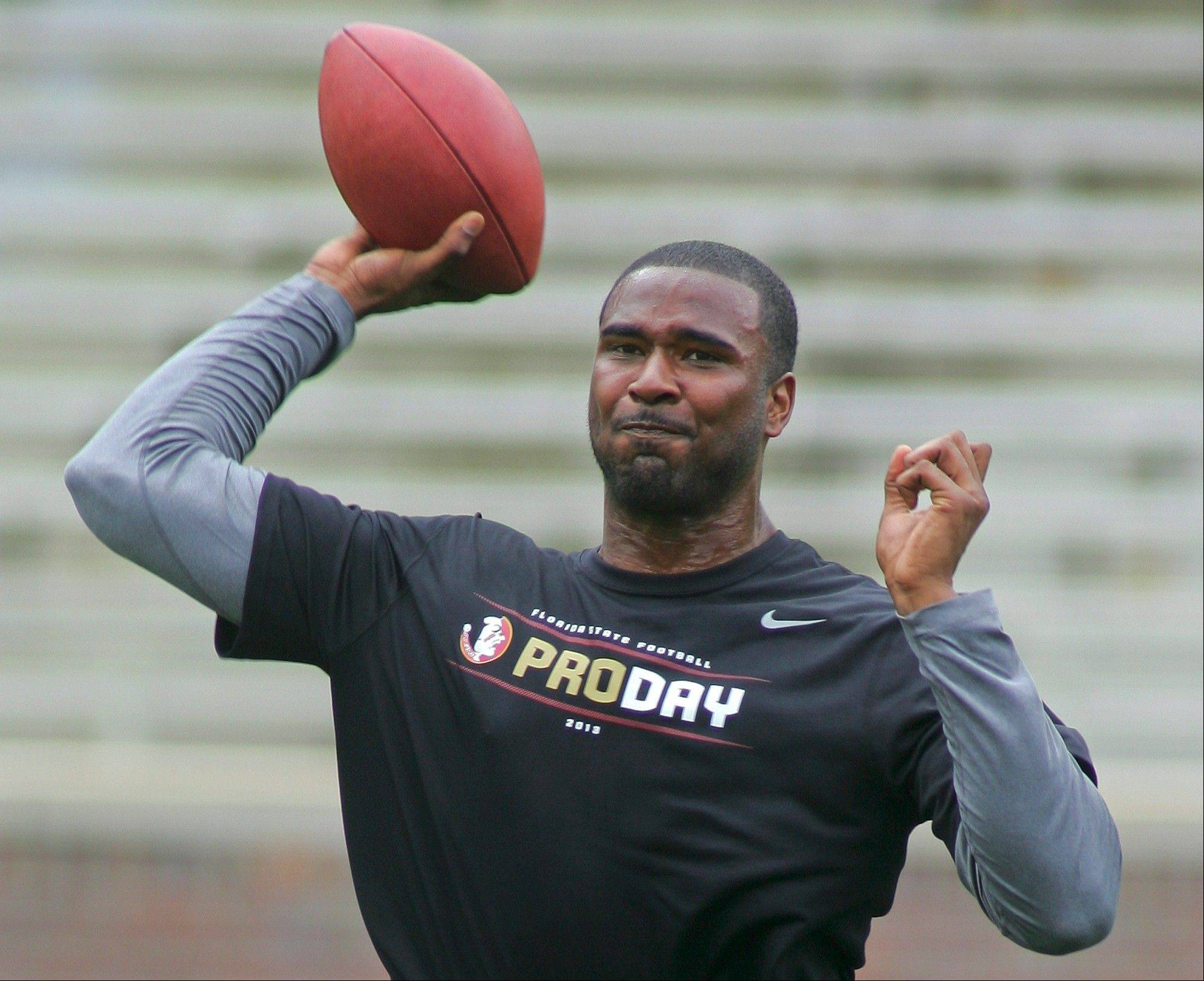 Former Florida State quarterback E.J. Manuel is projected to be a second-round pick in the upcoming NFL draft.