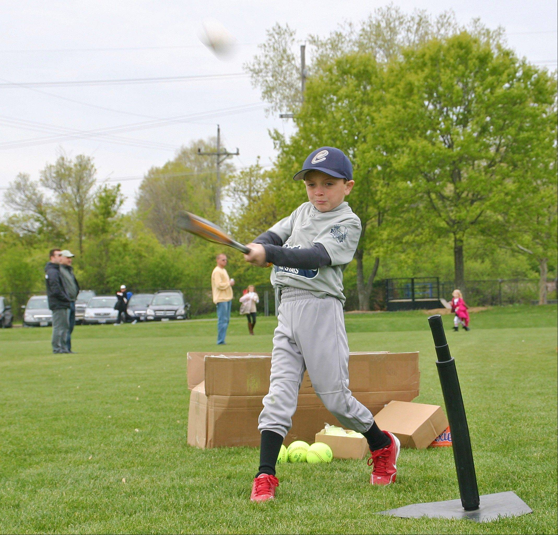 Boys and girls, ages 7-14, are invited to the free Aquafina Major League Baseball Pitch, Hit & Run Competition on April 28 at West Park.