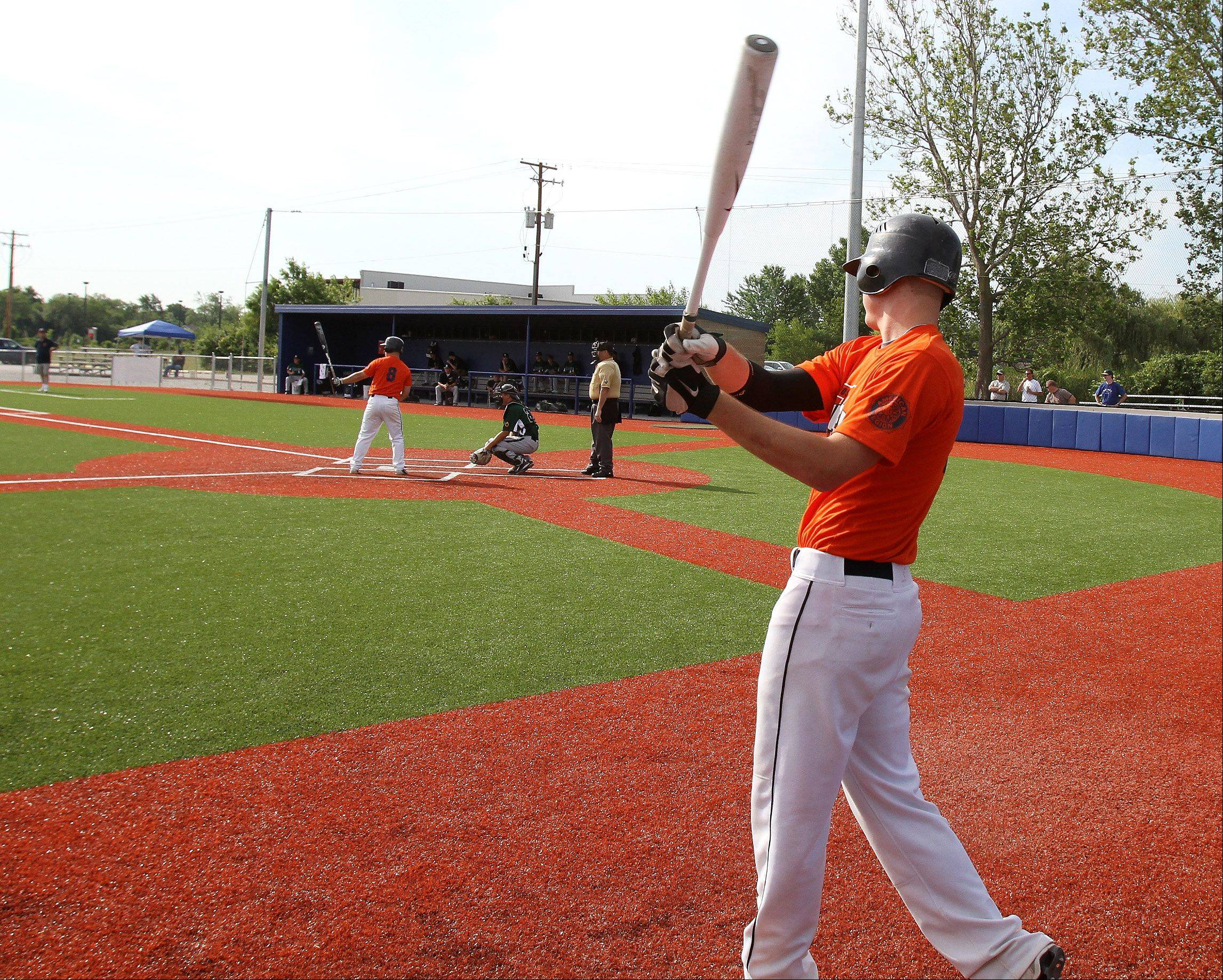 Wheaton College will be able to rent out its baseball field in Carol Stream to other colleges, village officials said this week.