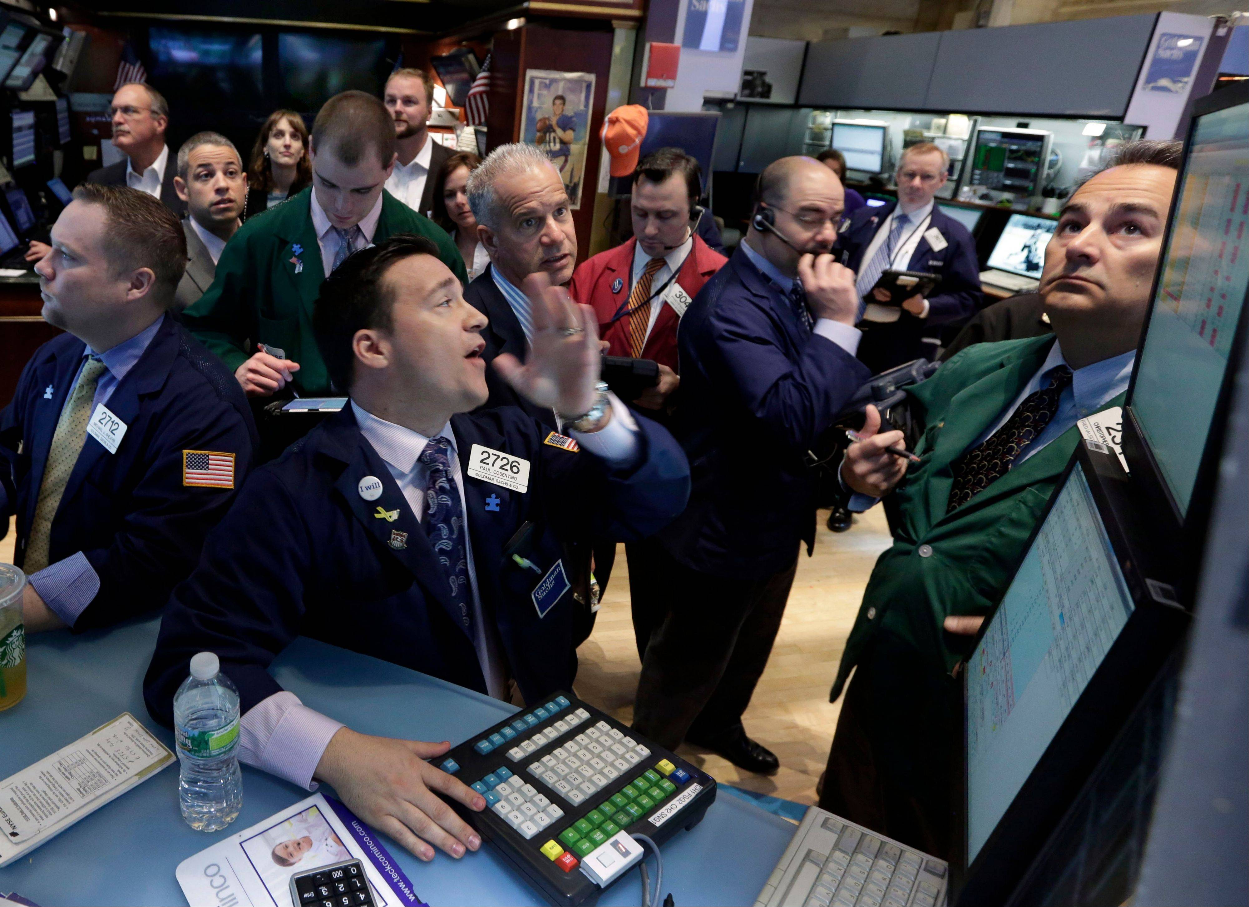 U.S. stocks fell Wednesday, erasing the biggest rally in three months for the Standard & Poor's 500 Index, amid disappointing results by companies from Bank of America Corp. to Textron Inc.