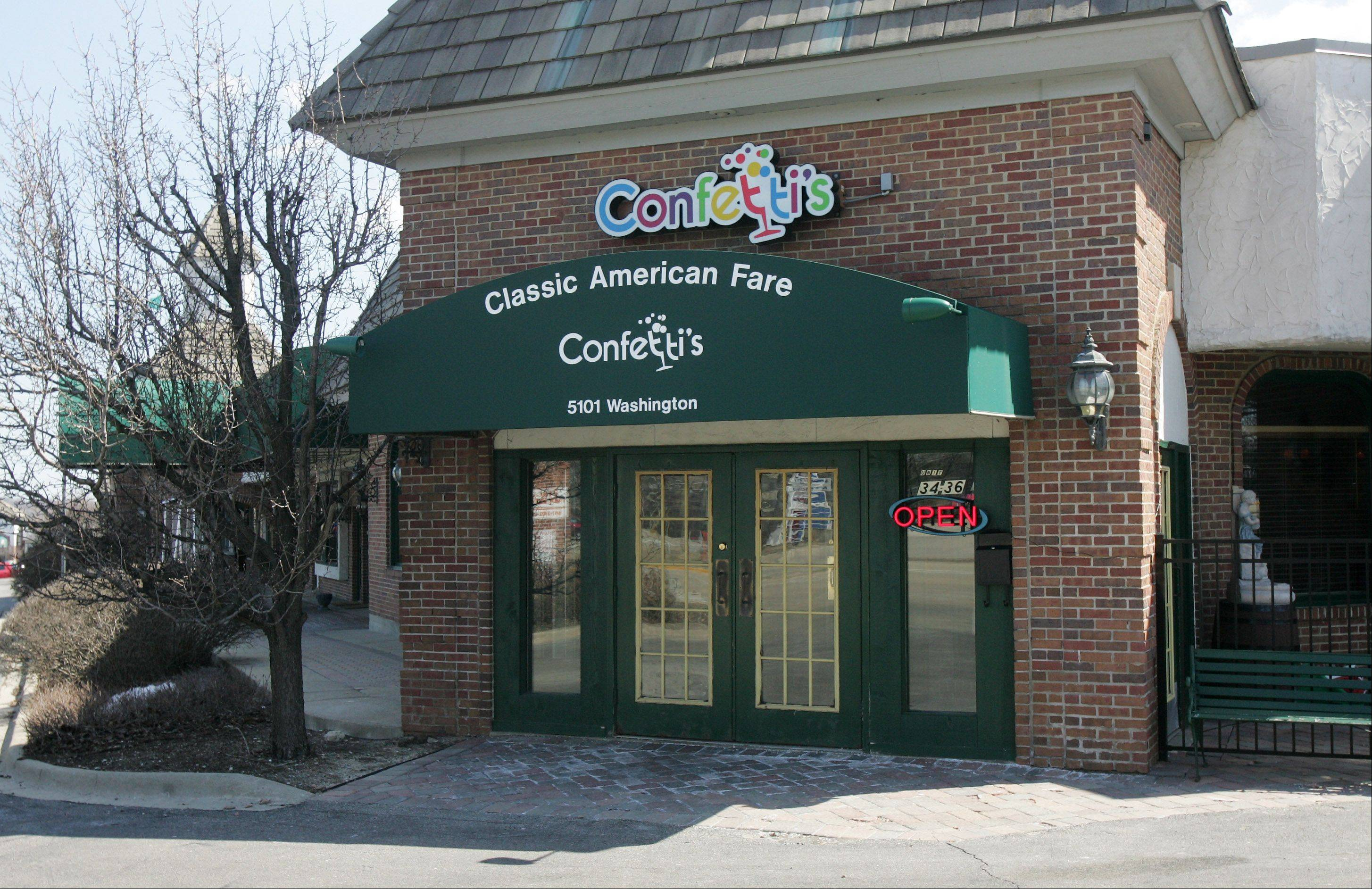 Confetti's in Gurnee opened in January 2013.