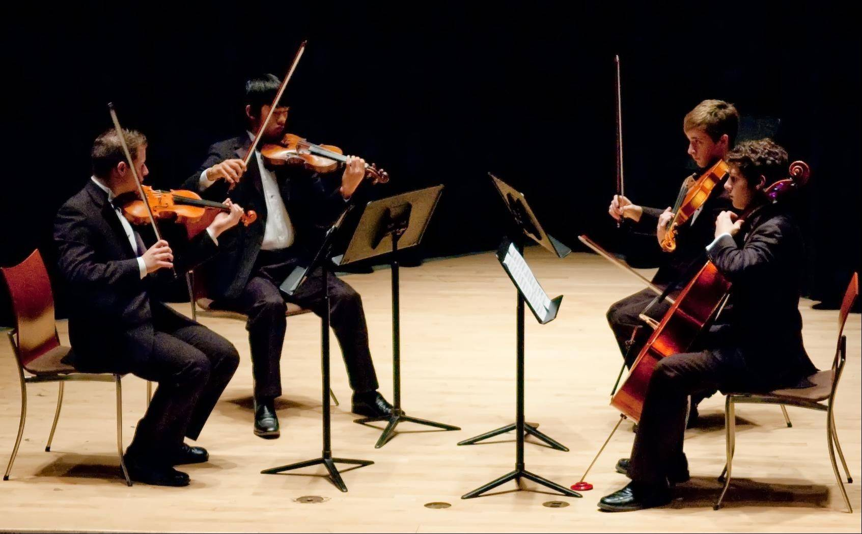 The Maud Powell String Quartet will perform at the Kaneland Community Fine Arts Festival.
