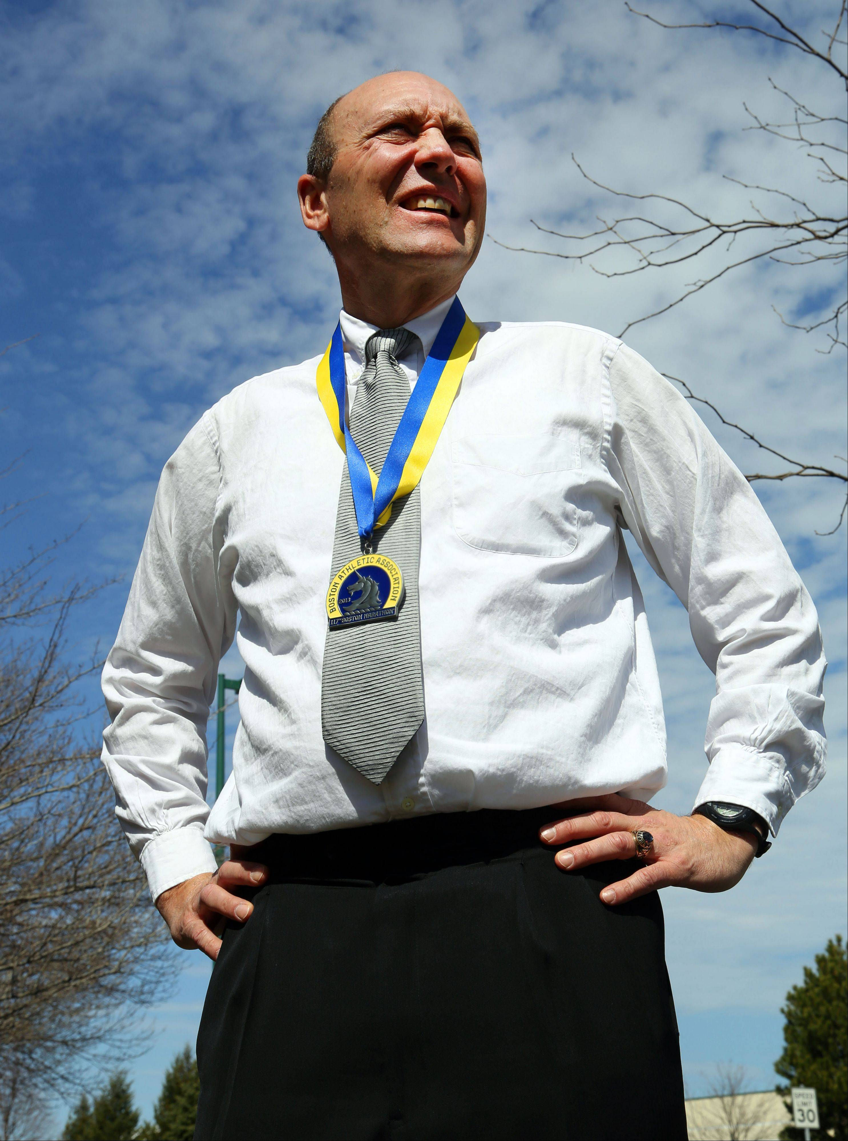 Hawthorn Woods resident Al Scaletta ran in Monday's Boston Marathon. He intends to return in 2014.