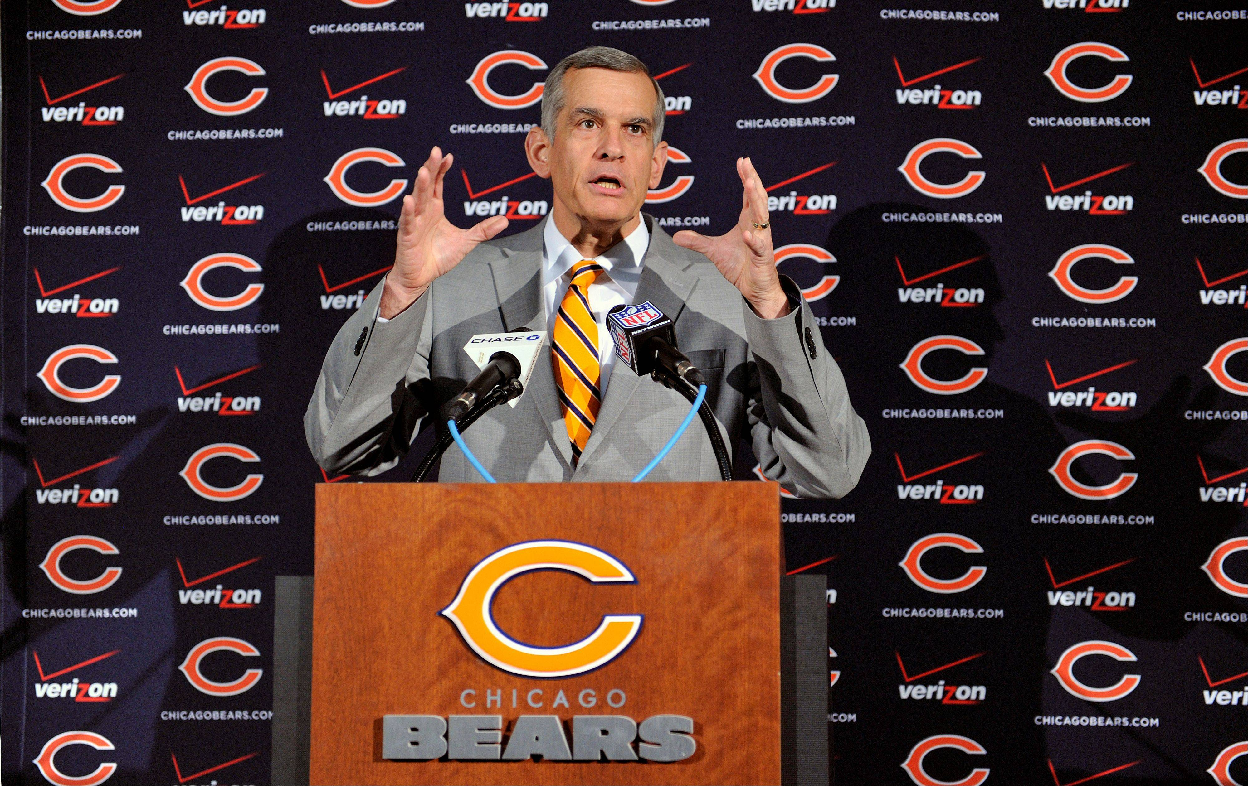 Bears general manager Phil Emery is not averse to trading down in the first round of the NFL draft if he can obtain extra draft picks in later rounds.