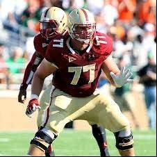 Emmett Cleary during his Boston College career