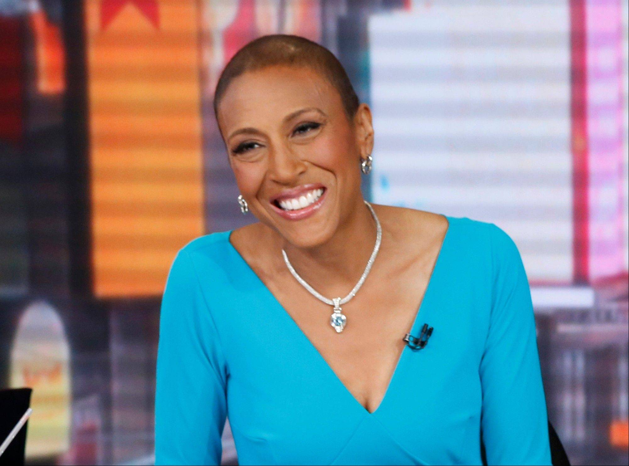 Anchor Robin Roberts is resting at home and off �Good Morning America� this week after another hospital stay as part of her recuperation from a rare blood disease.