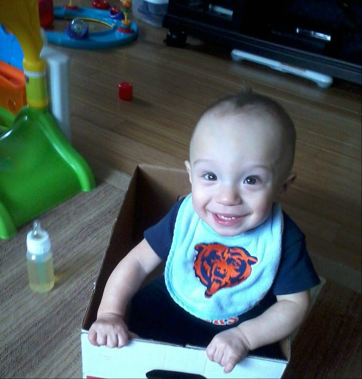 Henry Greske of Bolingbrook was born just shy of 27 weeks gestation. He�s now an active 13-month-old.