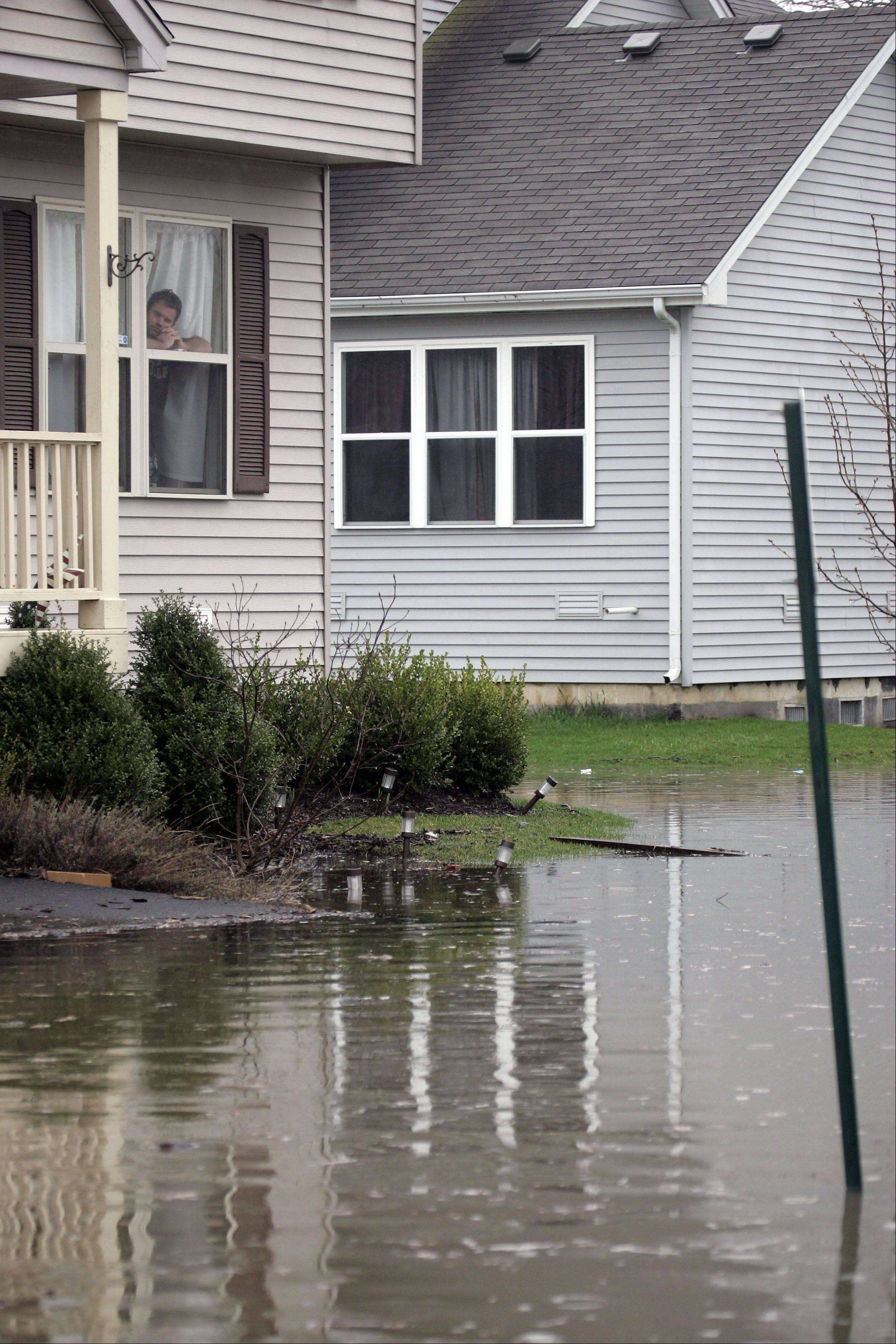 Flooded basements can be deadly. Use extreme care or call professionals to avoid electrocution.
