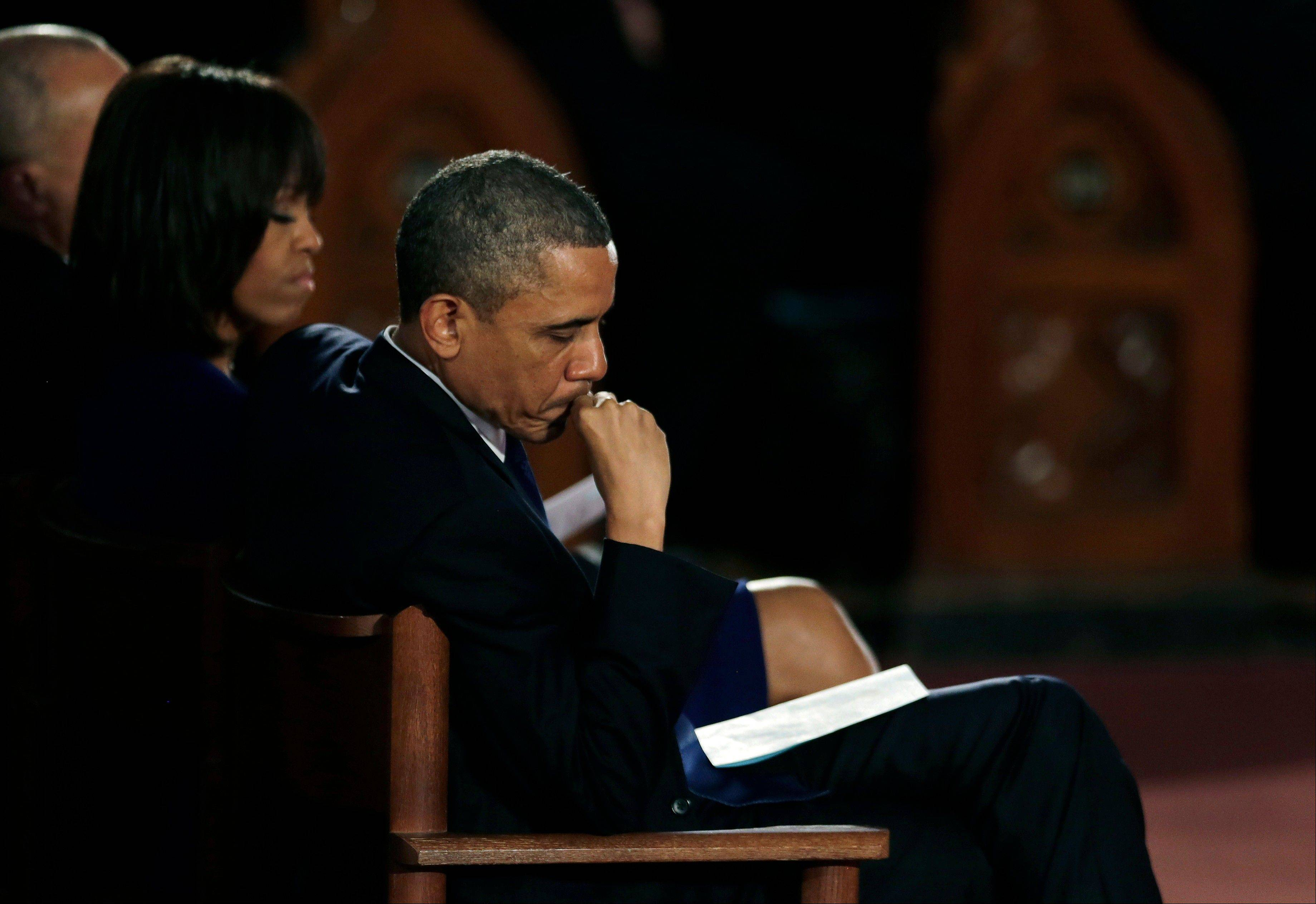 Obama honors bombing victims in Boston