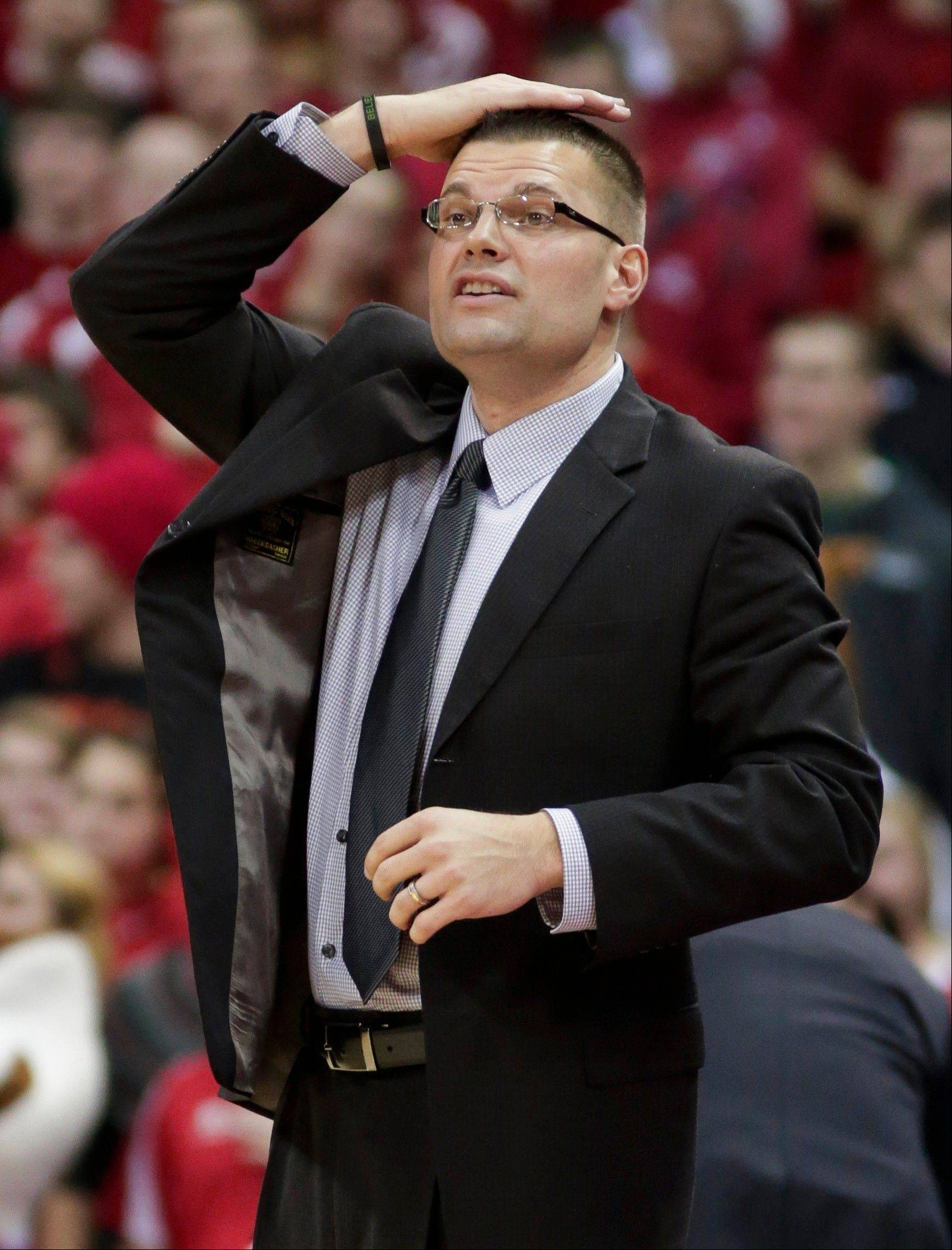 Wisconsin-Green Bay coach Brian Wardle, who led the Phoenix to a 18-15 record last season, is under investigation by school officials following two complaints by players who have left the program.