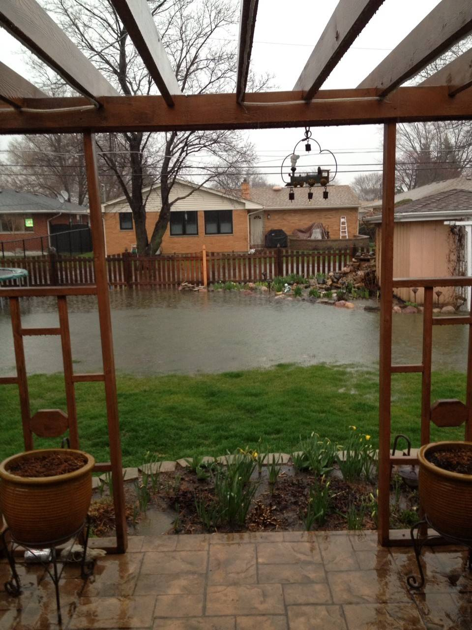 Colette Plantz of Des Plaines says her small pond grew into a big one.