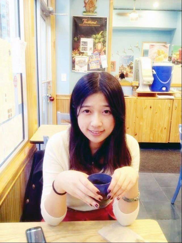 This undated photo provided by Meixu Lu shows Lingzi Lu in Boston. Boston University confirmed Wednesday, April 17, 2013, that Lingzi Lu, who was studying mathematics and statistics at the school and was due to receive her graduate degree in 2015, was among the people killed in the explosions at the finish line of the Boston Marathon Monday, April 15, 2013, in Boston.
