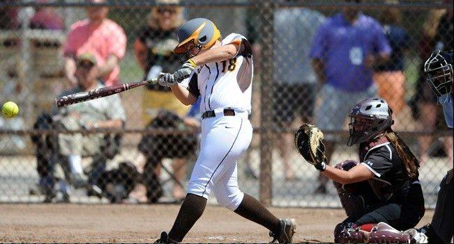 St. Edward graduate Tarah McShane is having a productive sophomore season for the Valparaiso softball team.