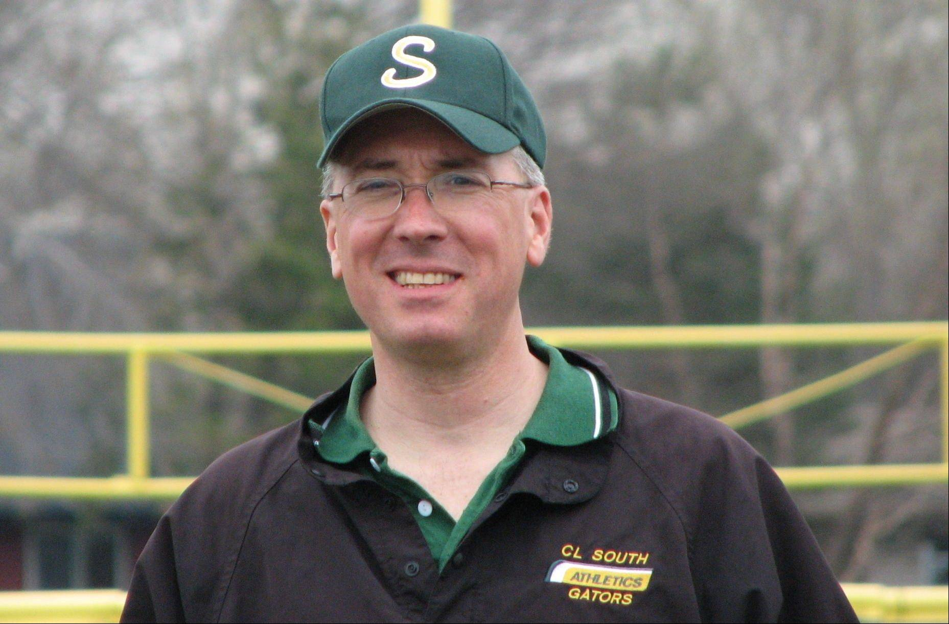 Crystal Lake South assistant softball coach Mark Hardie is out of action for the season while he recovers from compartment syndrome.