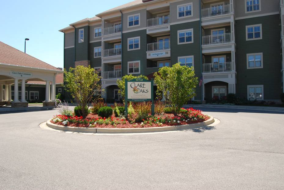 Clare Oaks, a continuing care retirement community in Bartlett