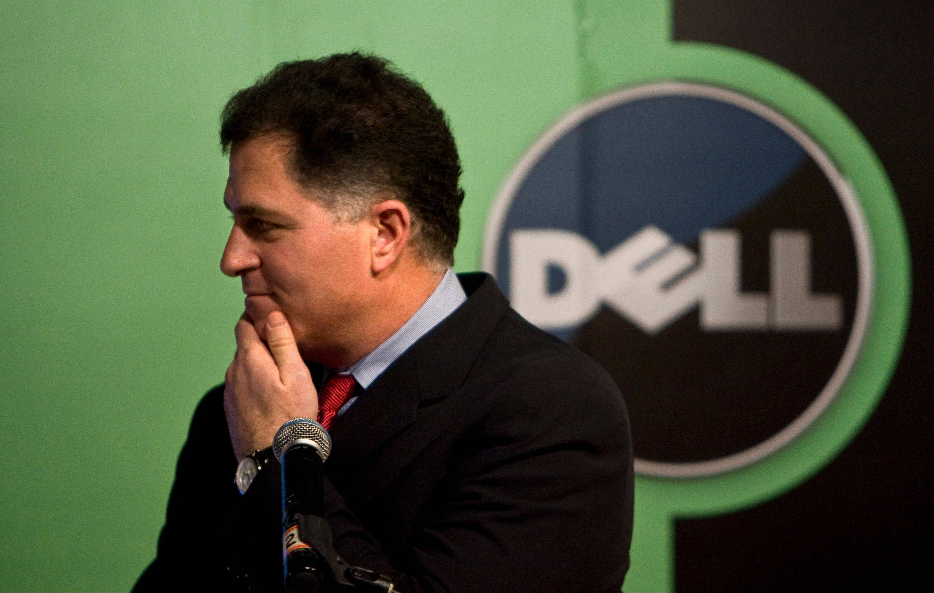 "Blackstone Group is dropping its effort to acquire the computer maker Dell, citing slumping personal computer sales and Dell's ""rapidly eroding financial profile."""