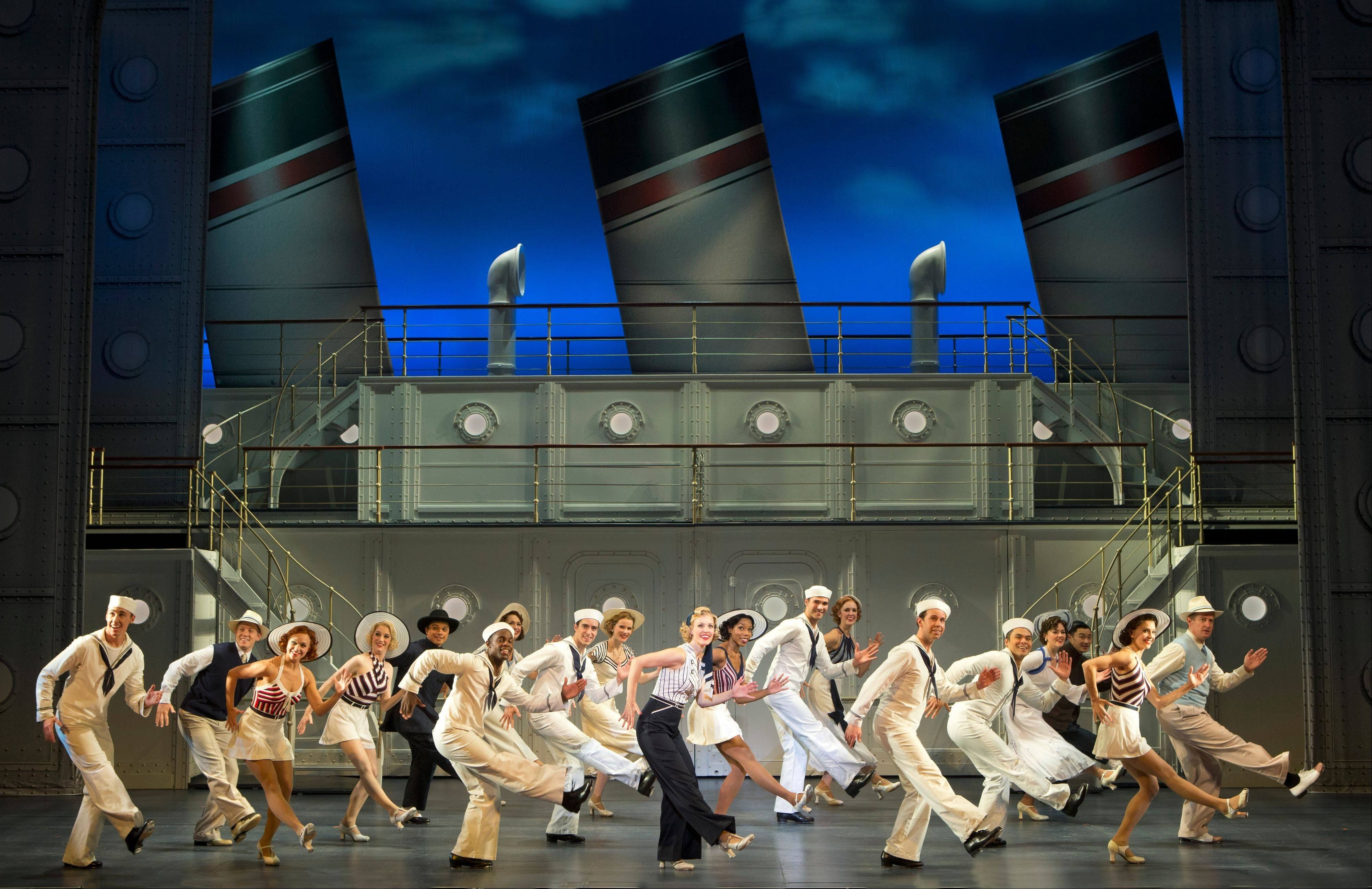 "The national tour of the 2011 Tony Award-winning Broadway revival of Cole Porter's ""Anything Goes"" plays the Cadillac Palace Theatre."