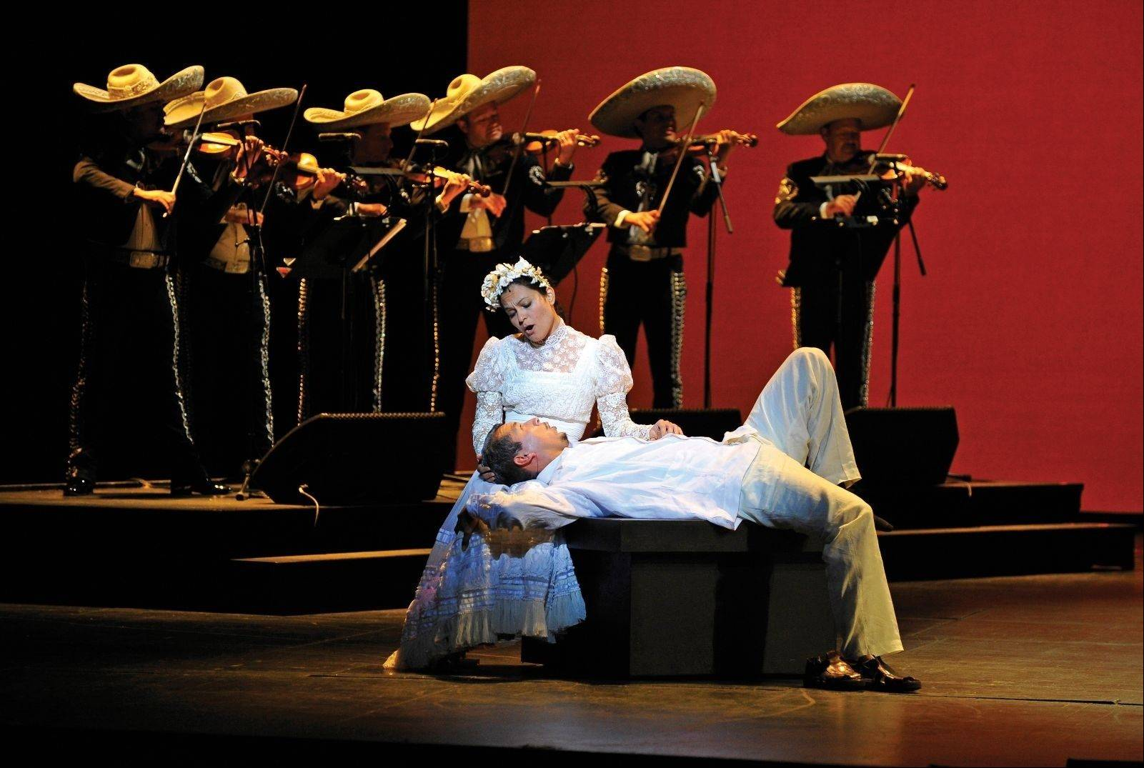 "The Lyric Opera of Chicago continues its run of ""Cruzar la Cara de la Luna"" (""To Cross the Surface of the Moon""), the world's first mariachi opera featuring Mariachi Aztlan, at the Benito Juarez Community Academy in Chicago and the Genesee Theatre in Waukegan."