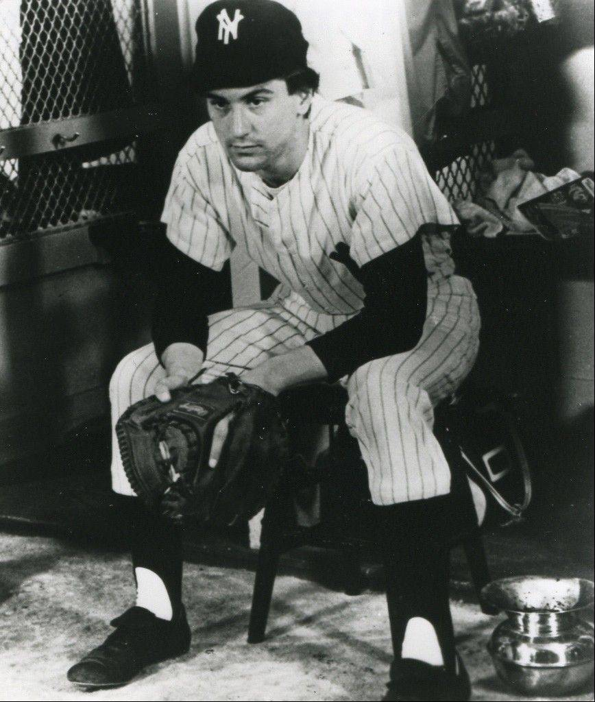 "A very young Robert De Niro plays a ballplayer with an incurable illness in the sentimental sports drama ""Bang the Drum Slowly."""